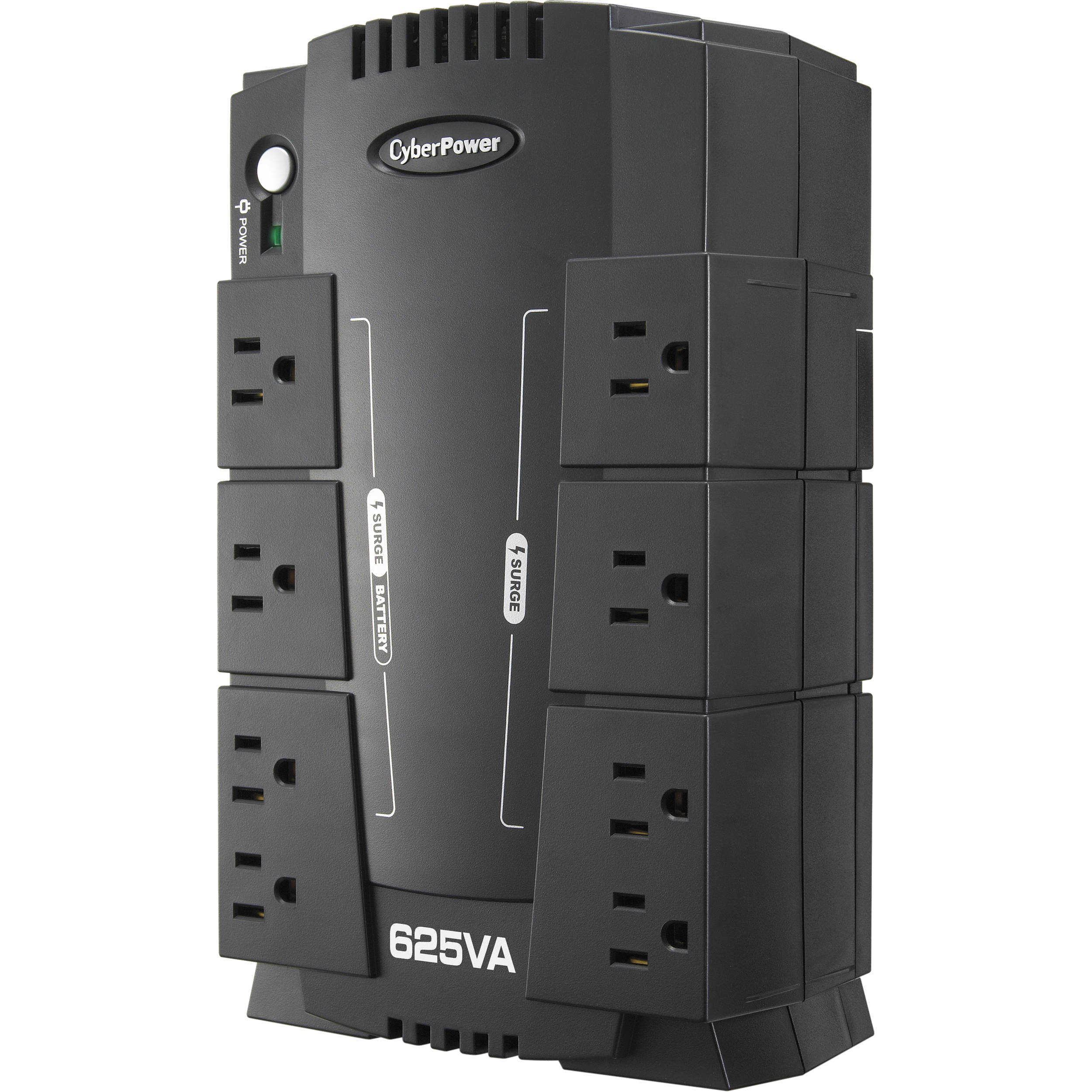 how to use cyberpower surge protector