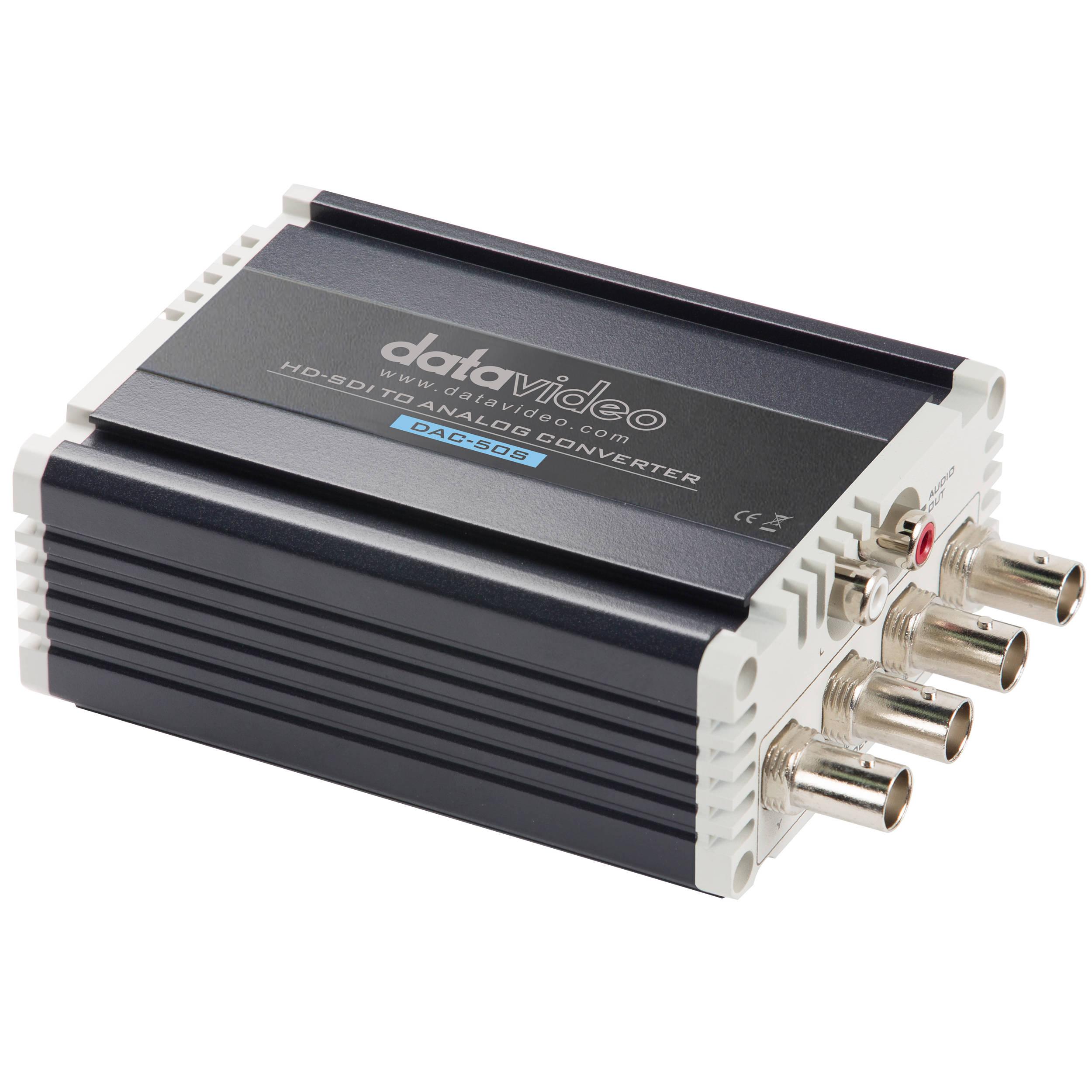 Datavideo Dac 50s Hd Sd Sdi To Analog Converter Bh Rbvhda8 3g Sdsdi 1 Input 8 Output Video Distribution Amplifier