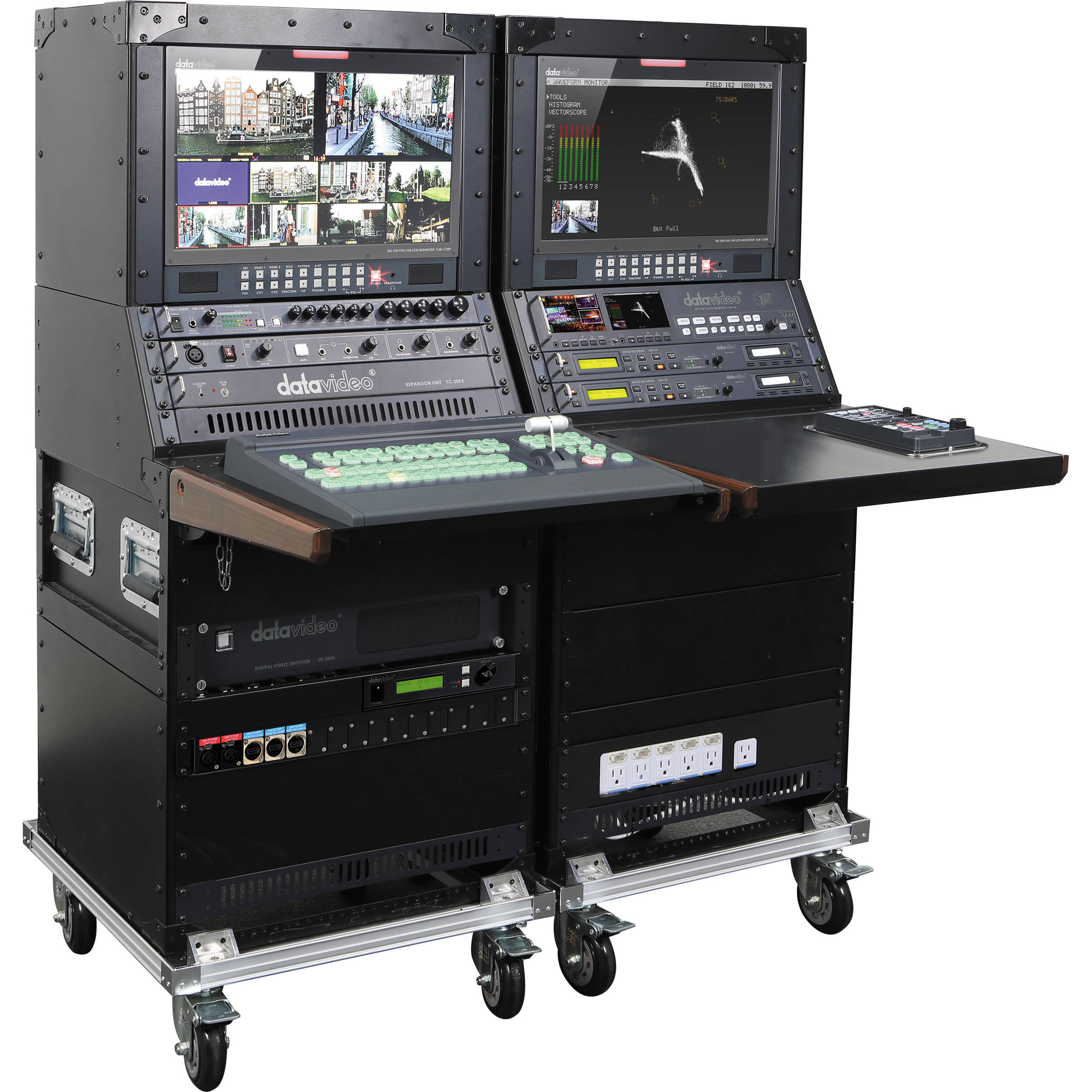 Datavideo obv 2800 portable production unit obv 2800 bh photo datavideo obv 2800 portable production unit falaconquin