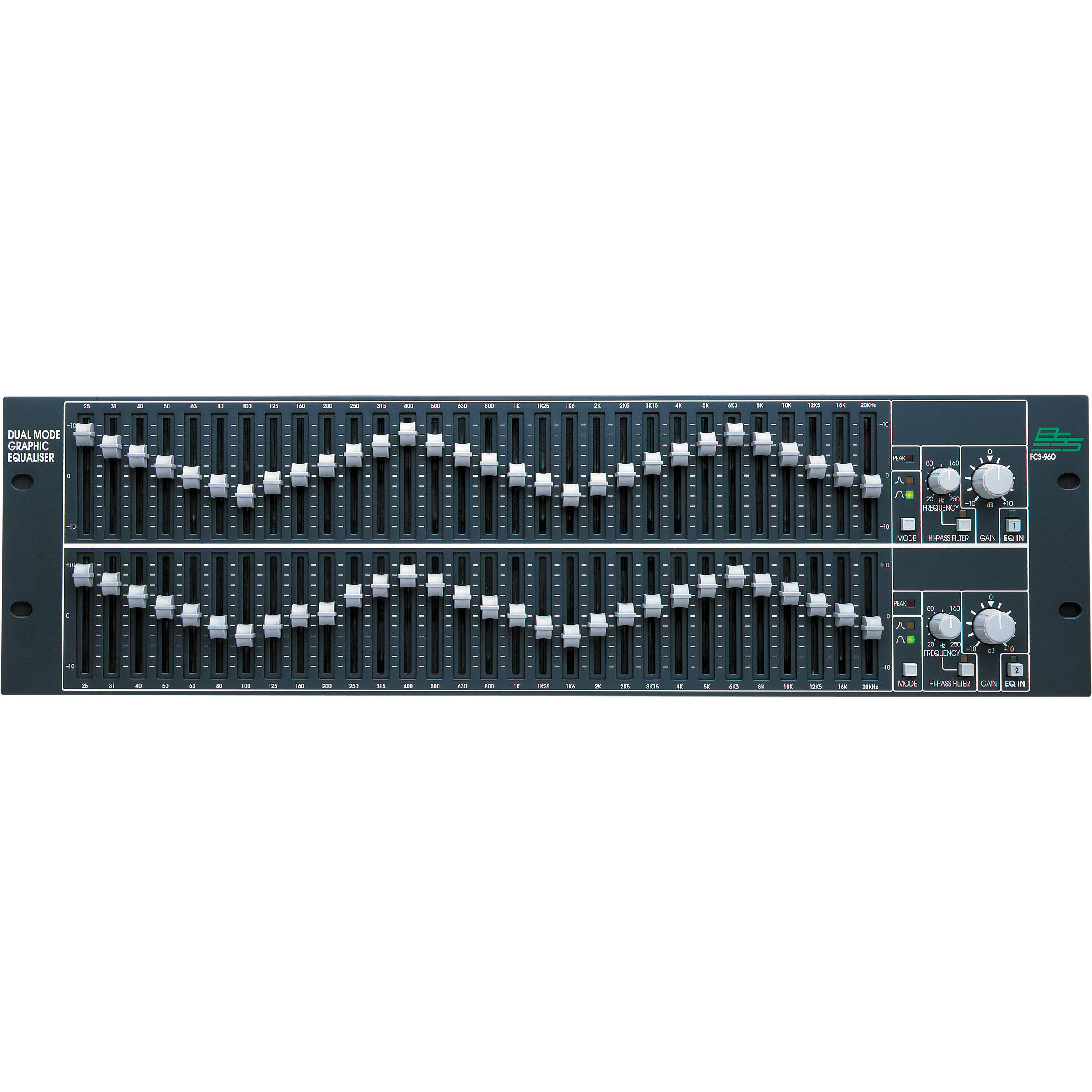 C Mark A907 231 Band Professional Graphic Equalizer 2 5 Channels Octave Equaliser By 4558 Dbx Bss Fcs 960 Dual Mode Channel
