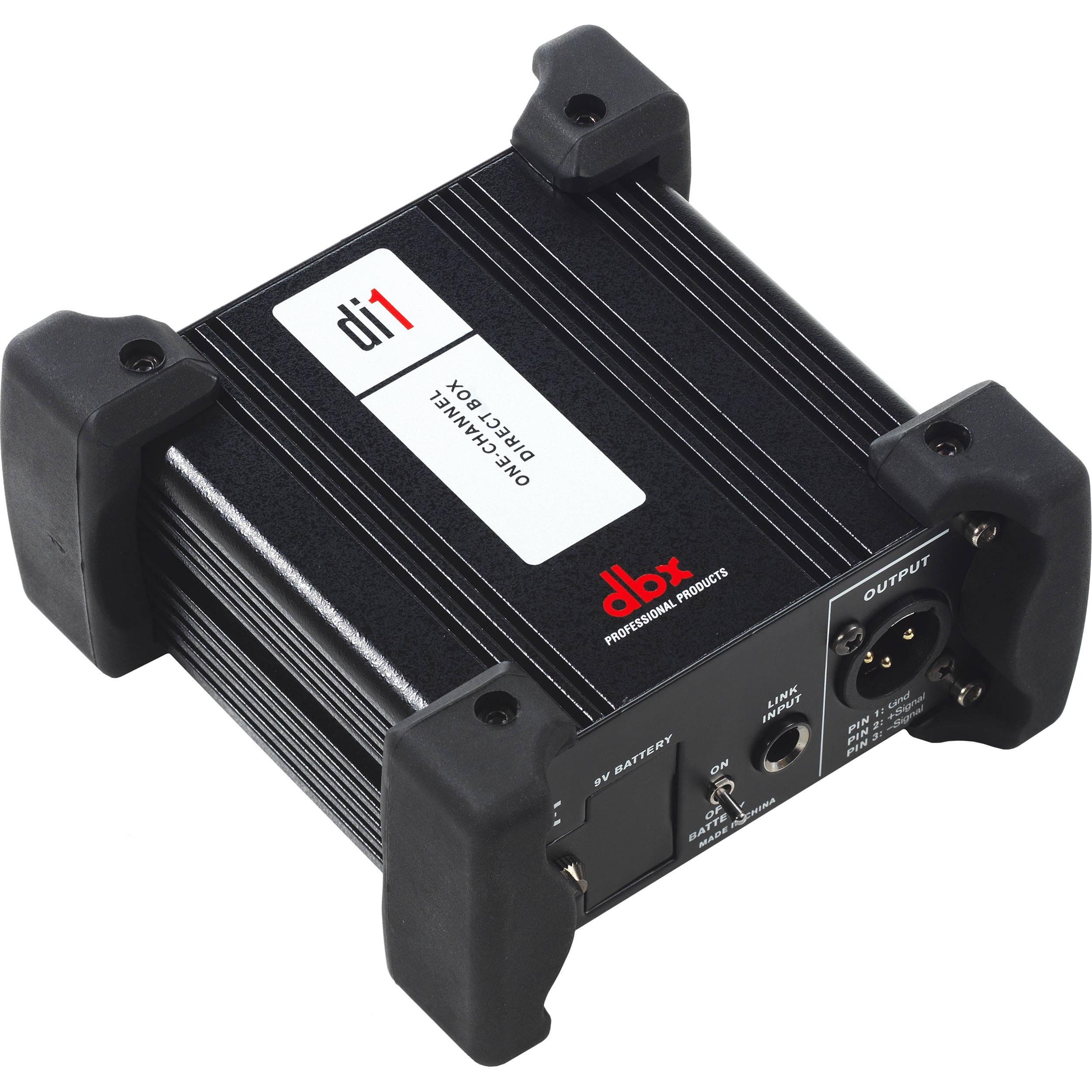 Dbx Di1 Active Direct Box Bh Photo Video China Circuit Breaker