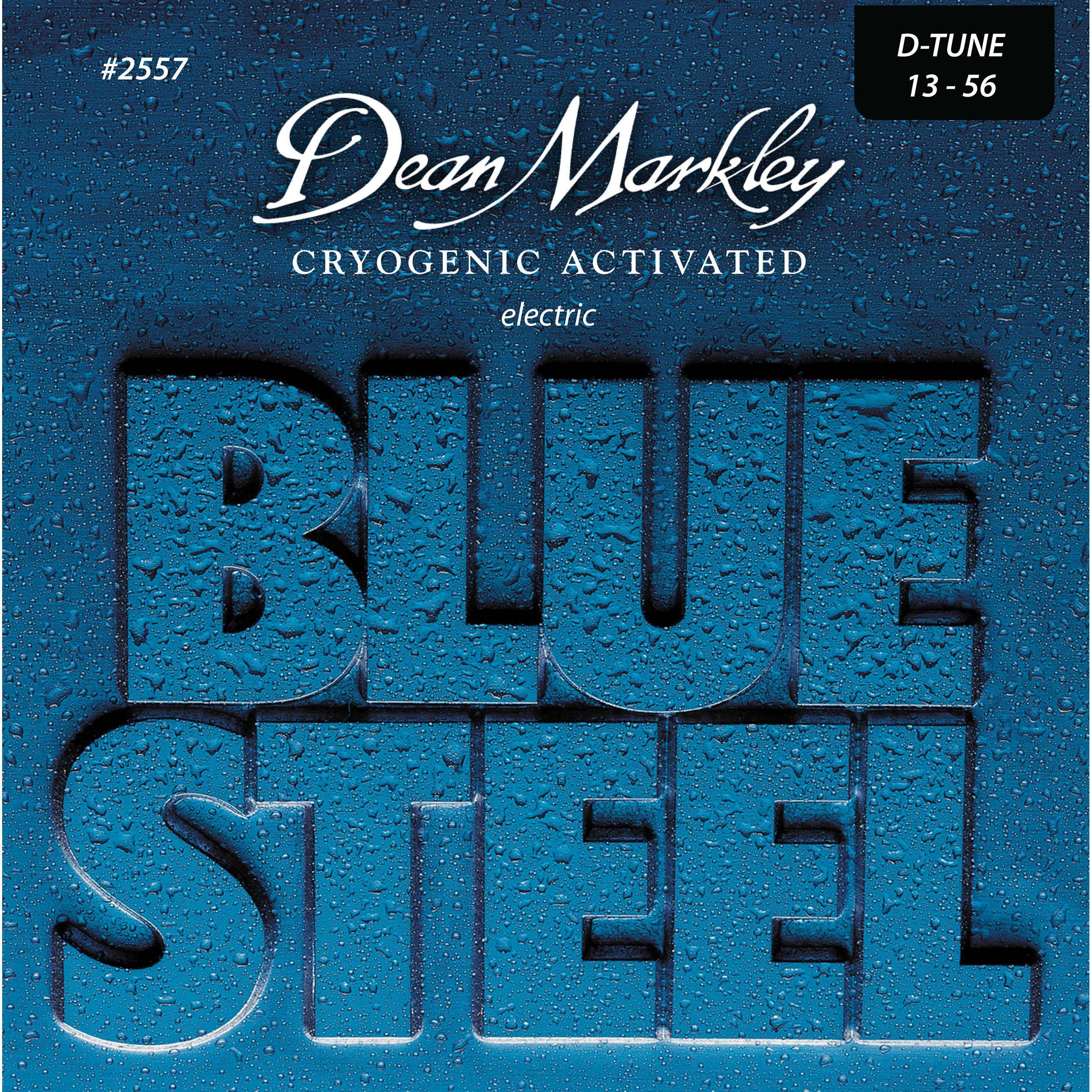 dean markley 2557 blue steel electric guitar strings dm2557 b h. Black Bedroom Furniture Sets. Home Design Ideas