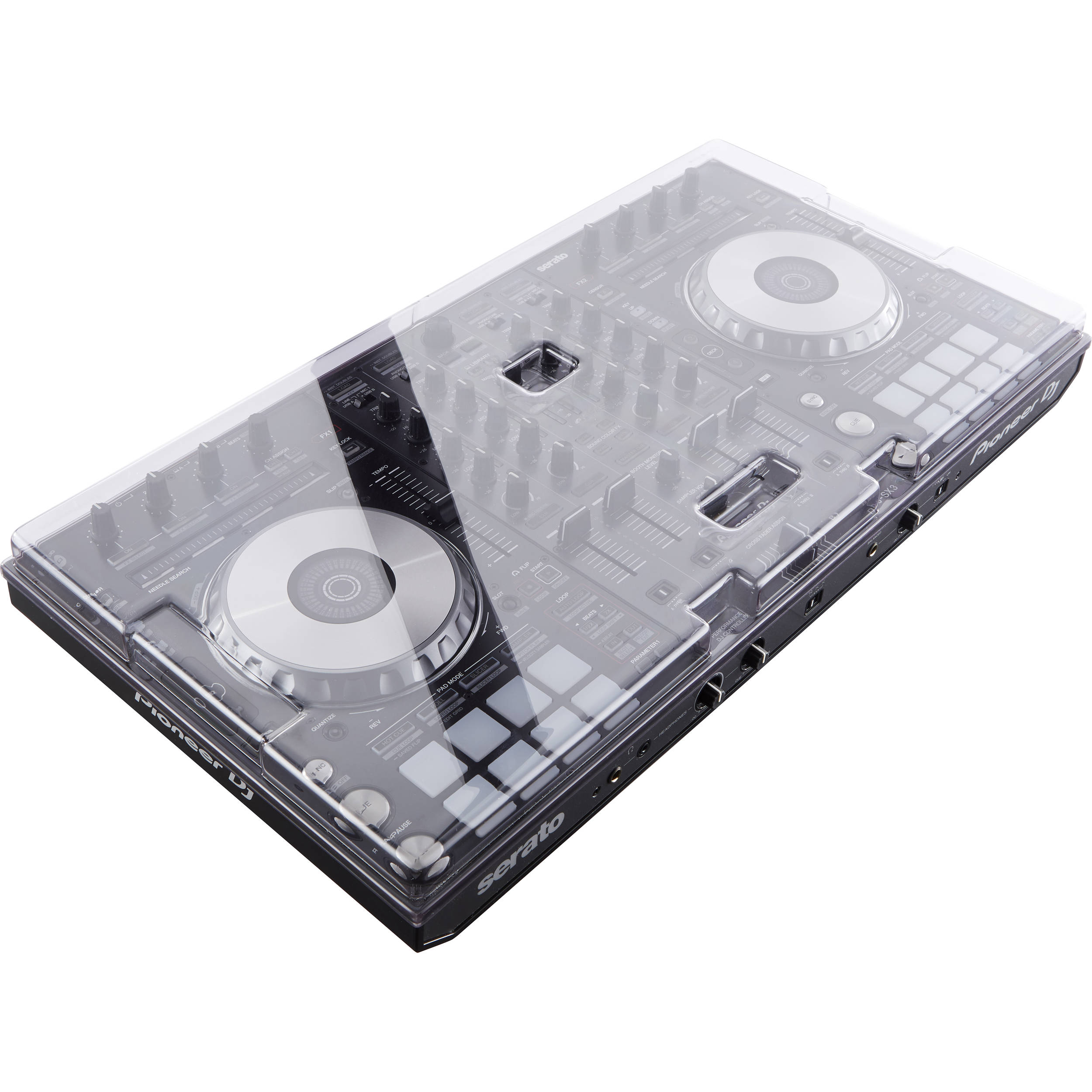 decksaver cover for pioneer sx3 controller dsle pc ddjsx3 b h. Black Bedroom Furniture Sets. Home Design Ideas