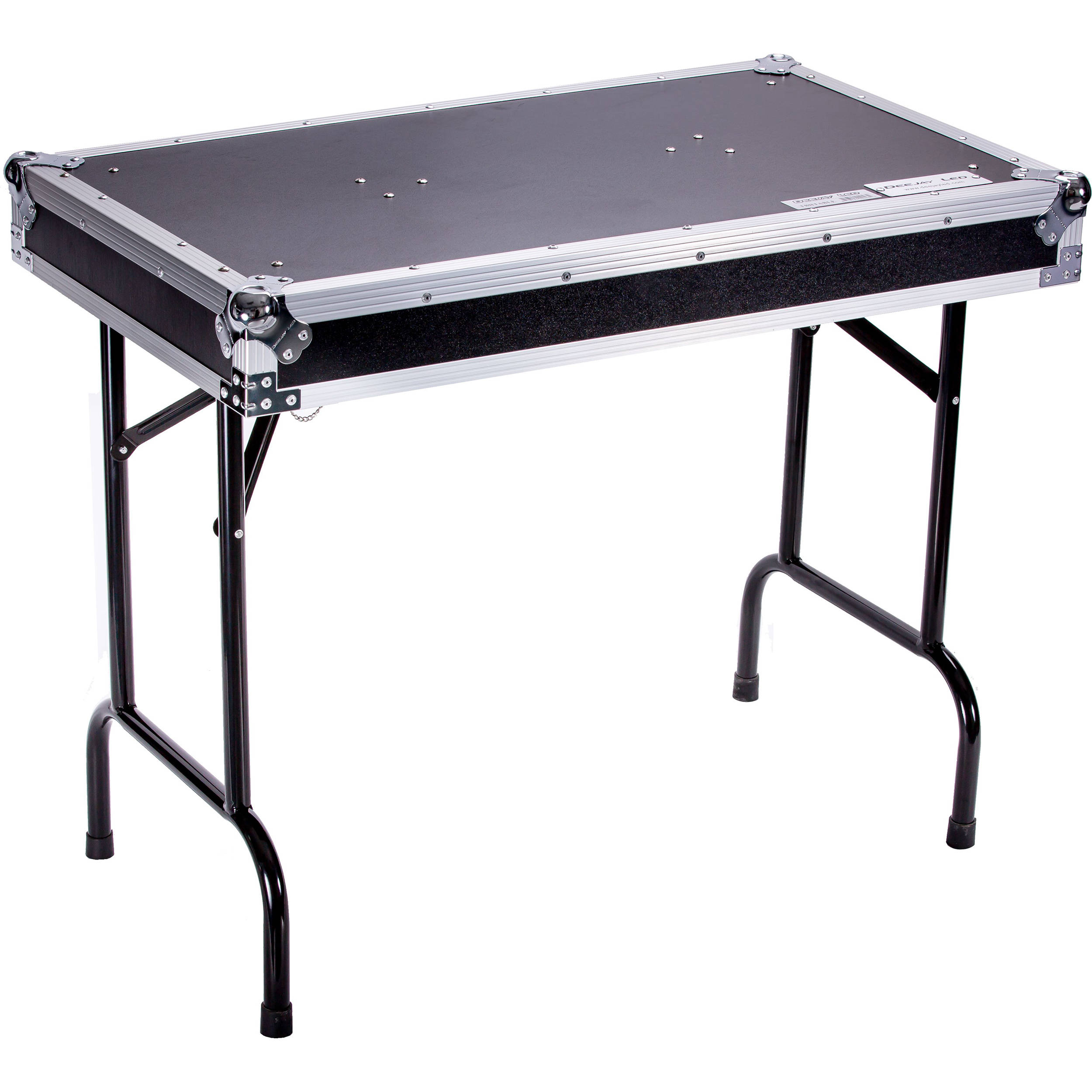 deejay led universal fold out dj table with locking tbhtable b h. Black Bedroom Furniture Sets. Home Design Ideas
