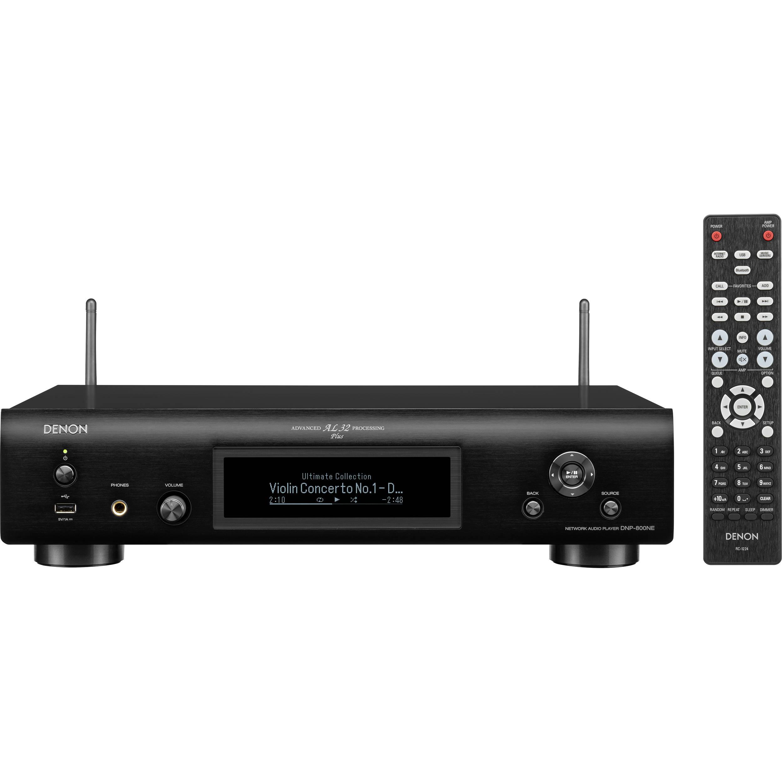 Denon DNP-800NE Network Audio Player DNP800NEBKE3 B&H Photo