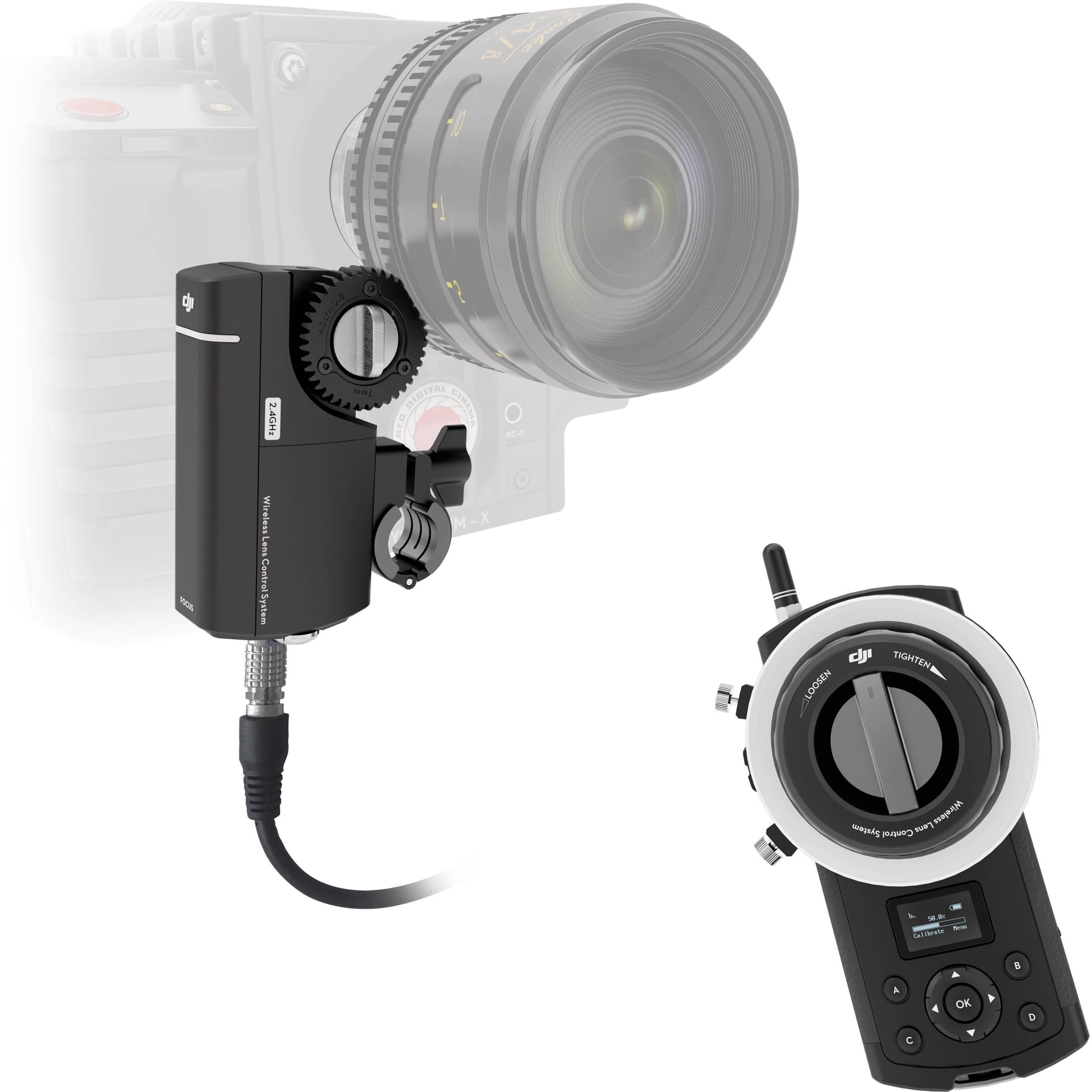 Dji Focus Wireless Follow Focus System Cp Zm 000234 B Amp H Photo