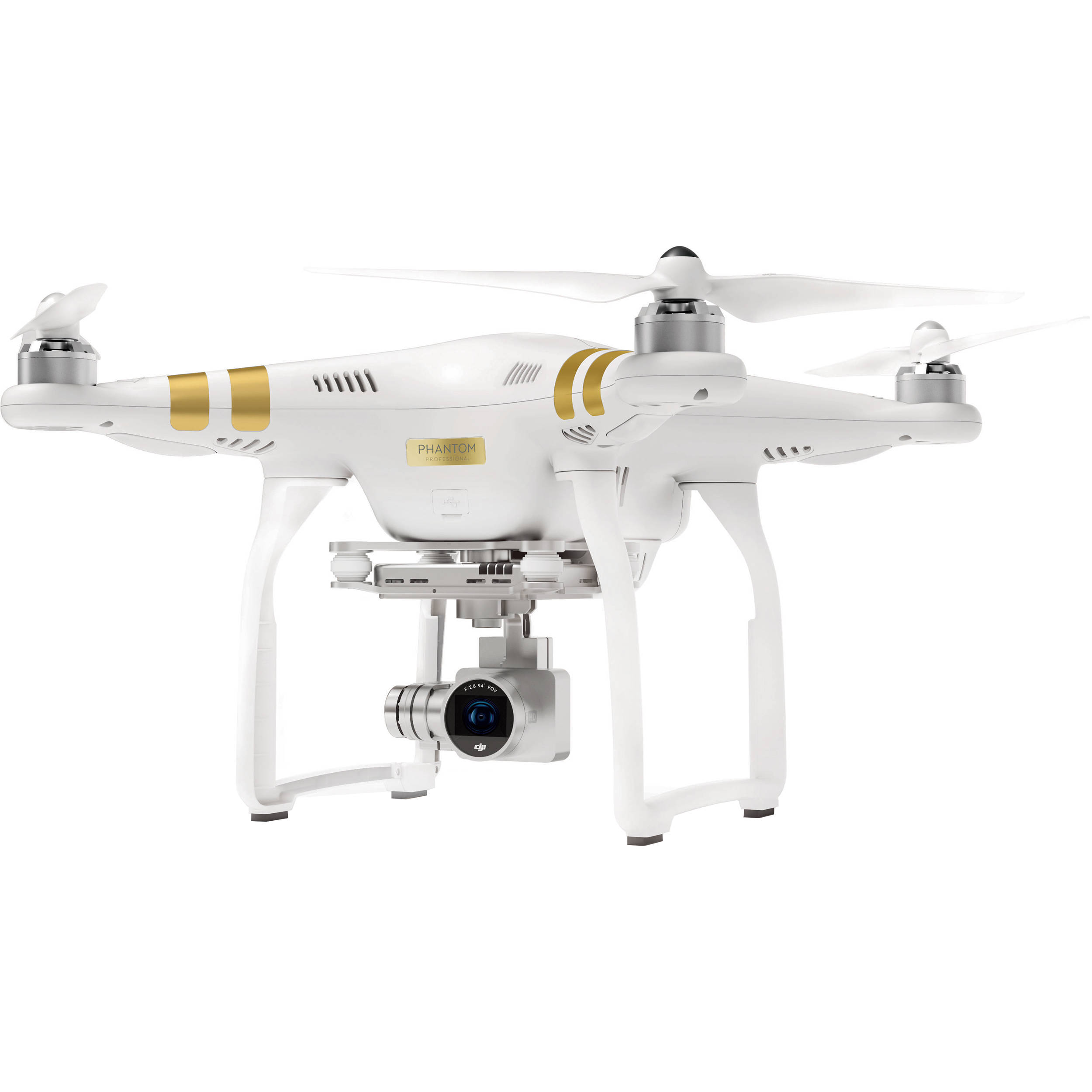 DJI Phantom 3 Professional Quadcopter With 4K Camera And Axis Gimbal