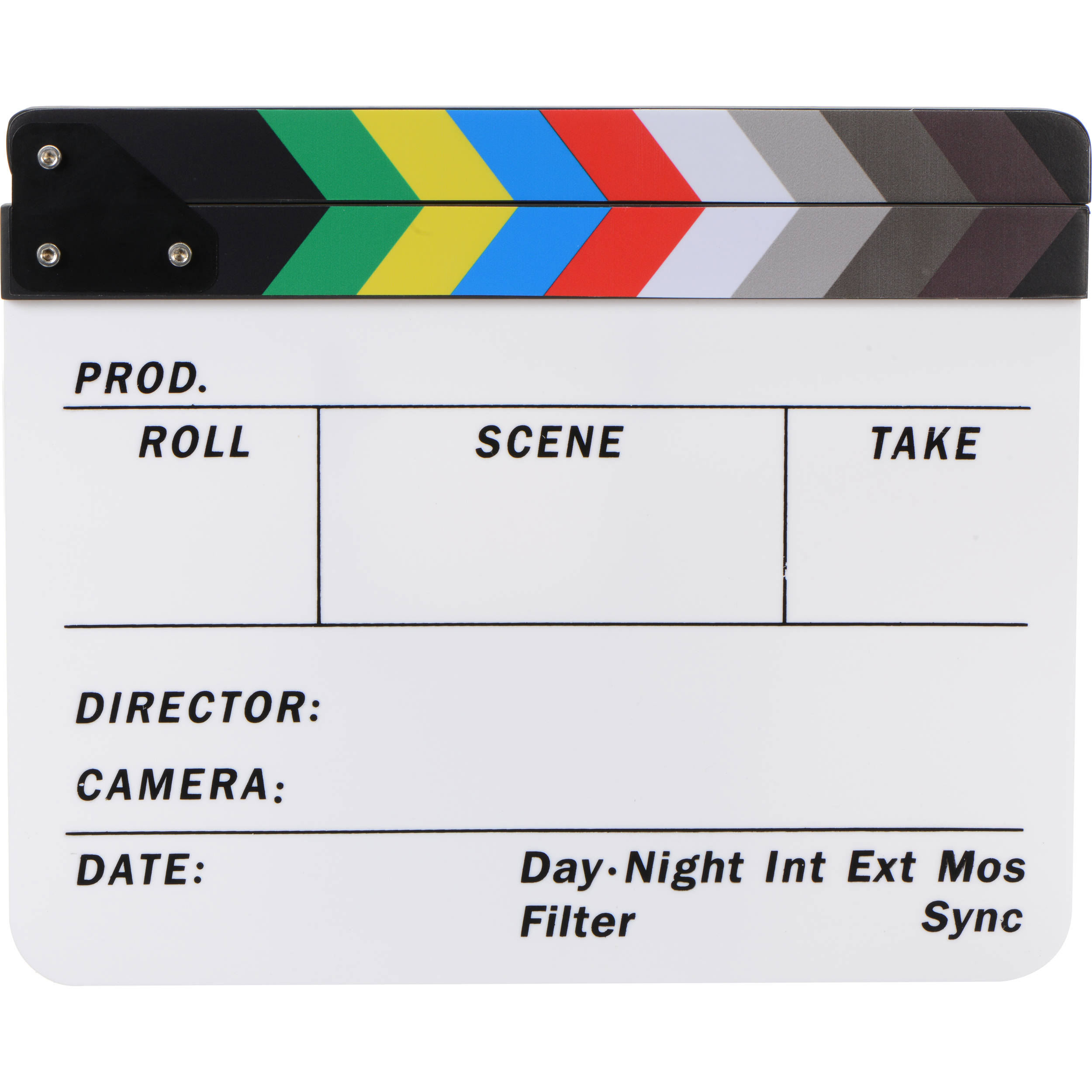 Production Slates Bh Photo Video Lighting Products Metal Related Searchesclapper Switch Clap Light Dot Line Color Clapboard