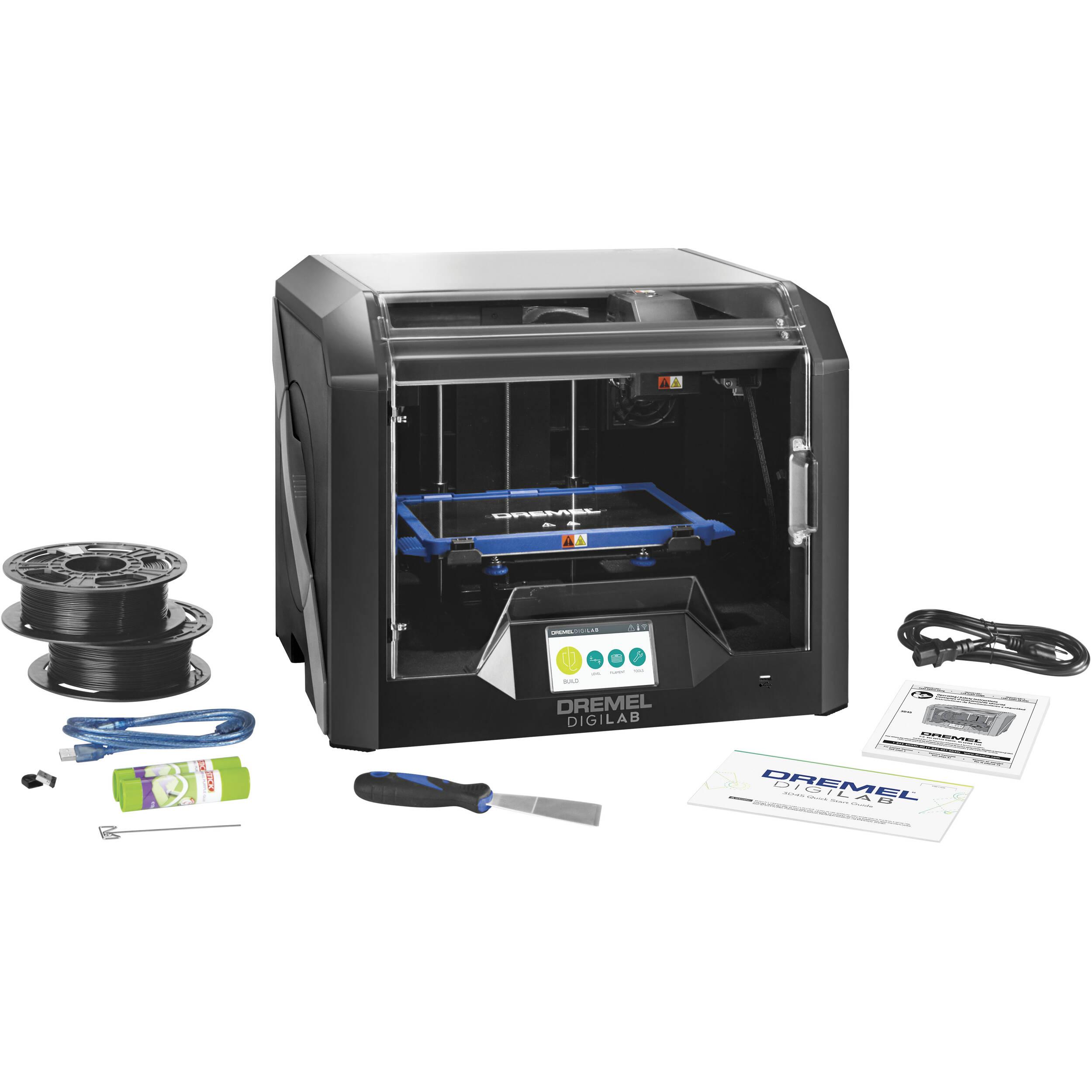 Dremel 3D Digilab 3D45 Printer 3D45-01 B&H Photo Video