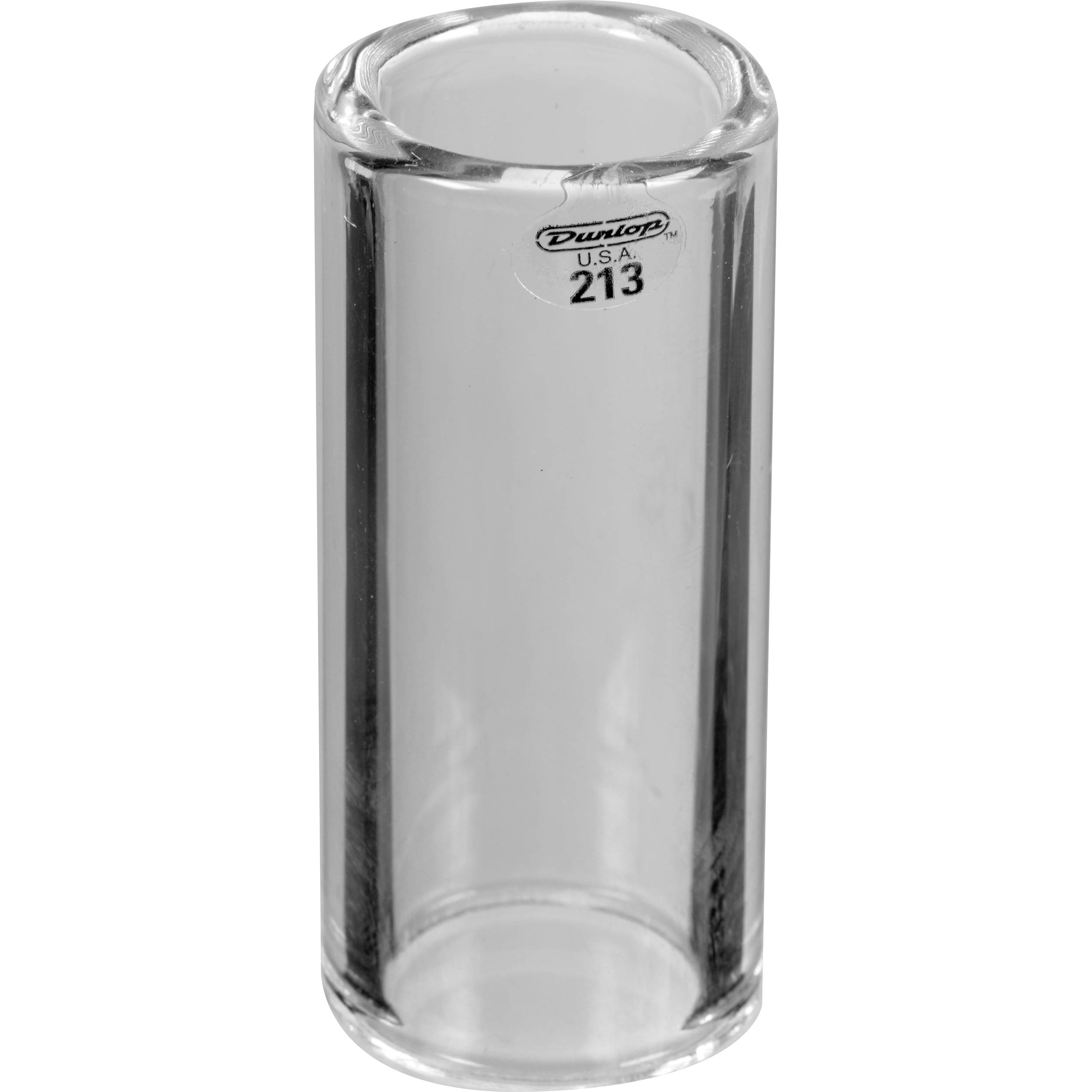 dunlop 213 large glass bottleneck slide heavy 213 b h photo. Black Bedroom Furniture Sets. Home Design Ideas