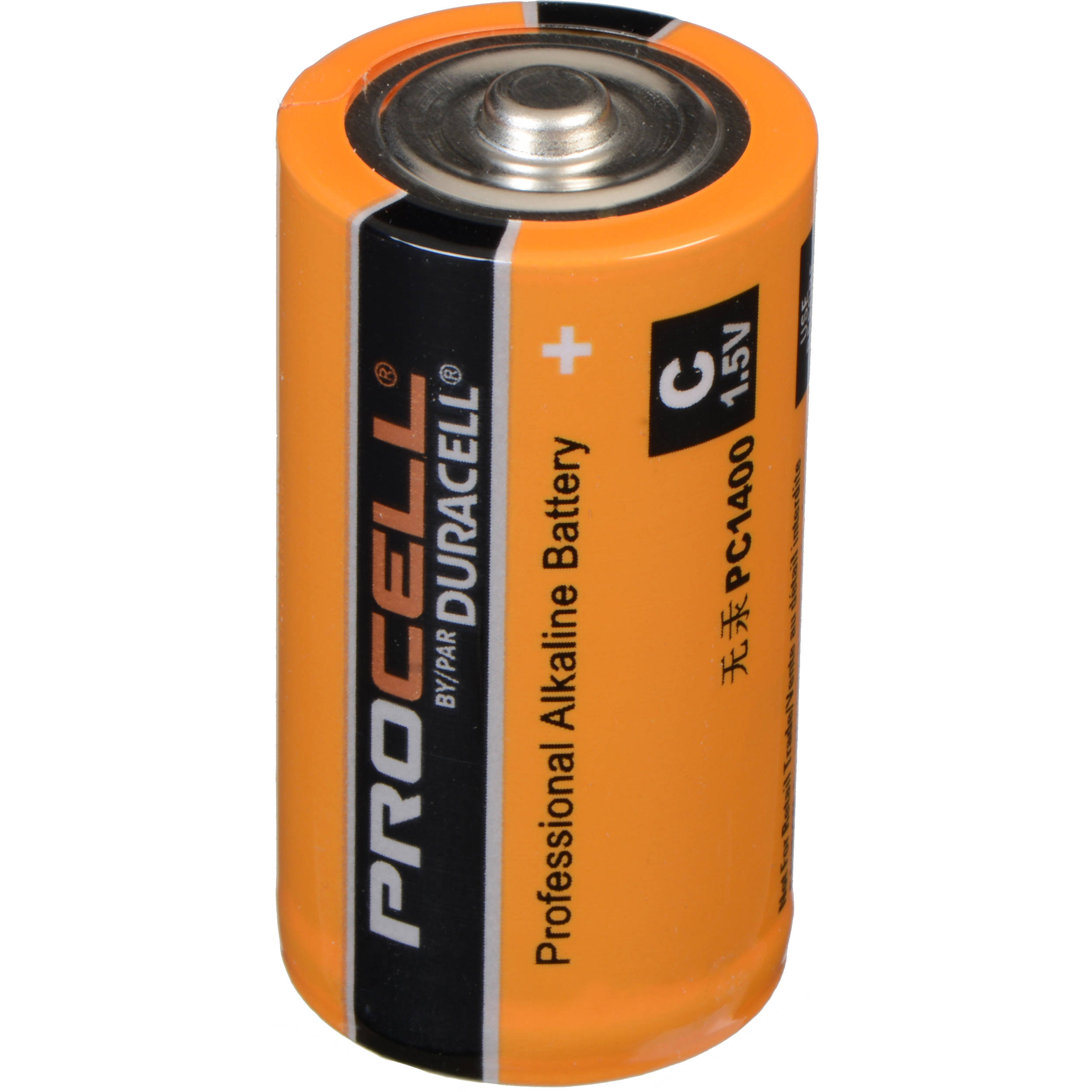 Duracell C Procell 1.5V Alkaline Batteries (12 Pack) PC1400 B&H