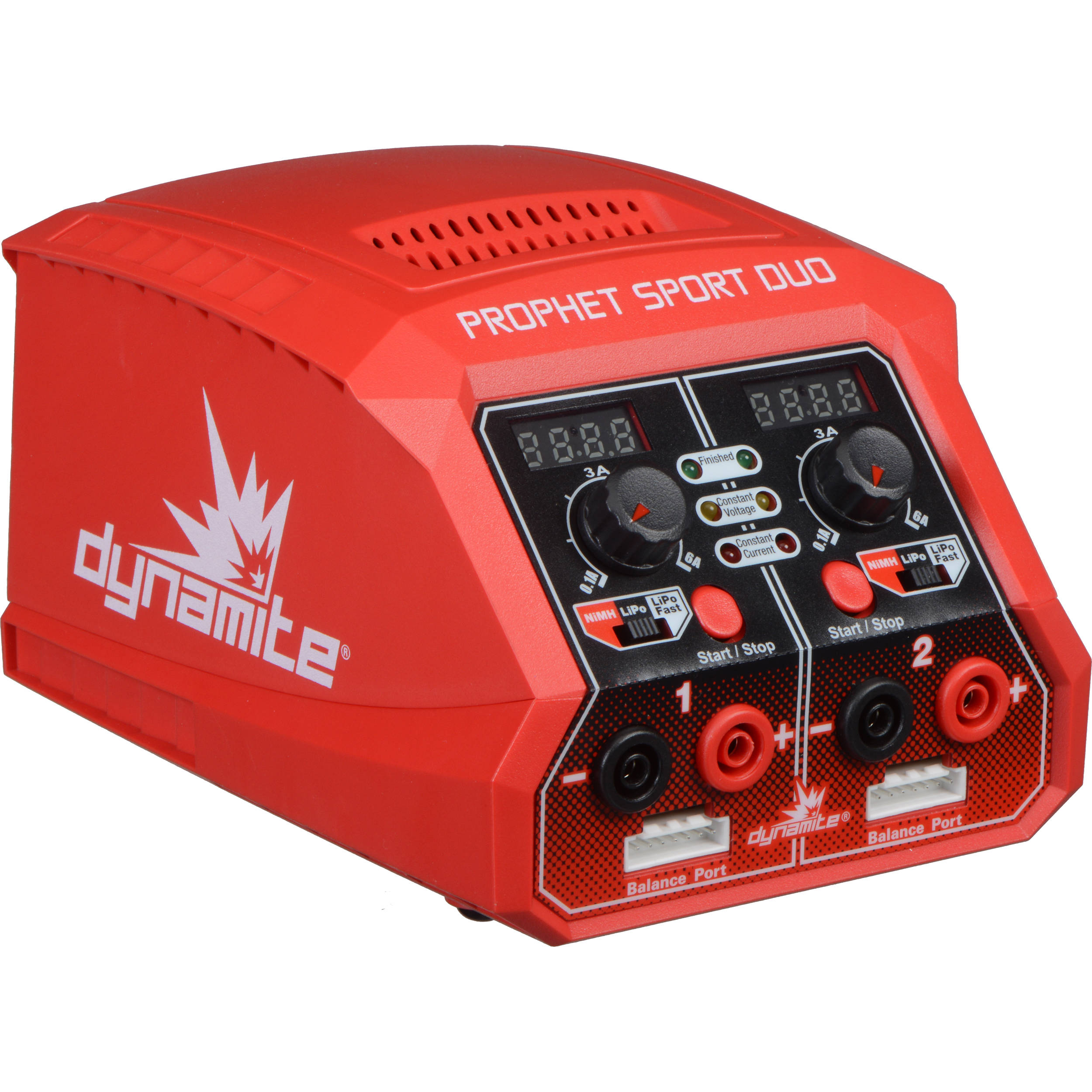 Dynamite Prophet Sport Duo Dual 50w Ac Battery Charger