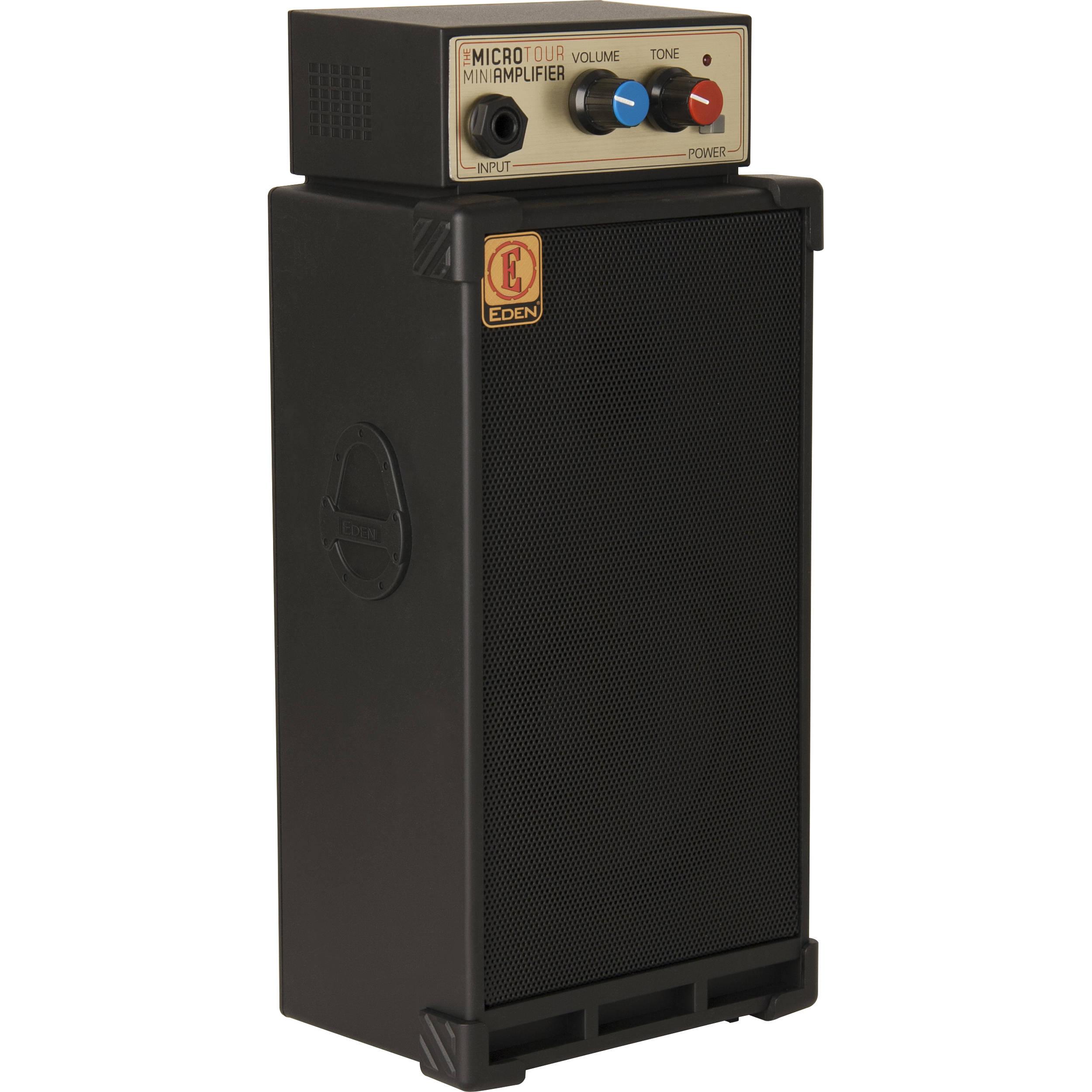 eden amps microtour portable bass amplifier microtour u b h. Black Bedroom Furniture Sets. Home Design Ideas