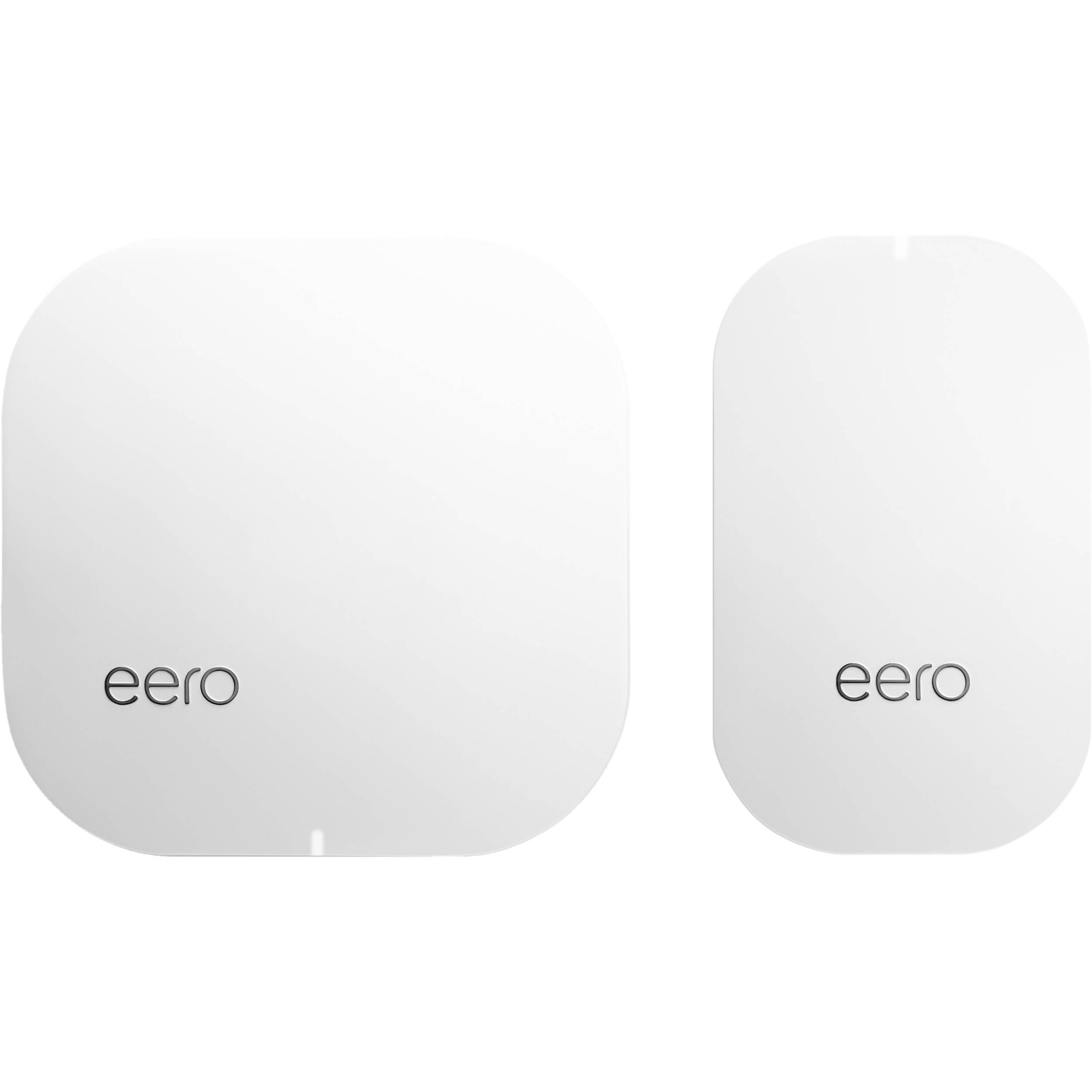 eero home wi fi system 1 eero 1 beacon m010201 b h photo