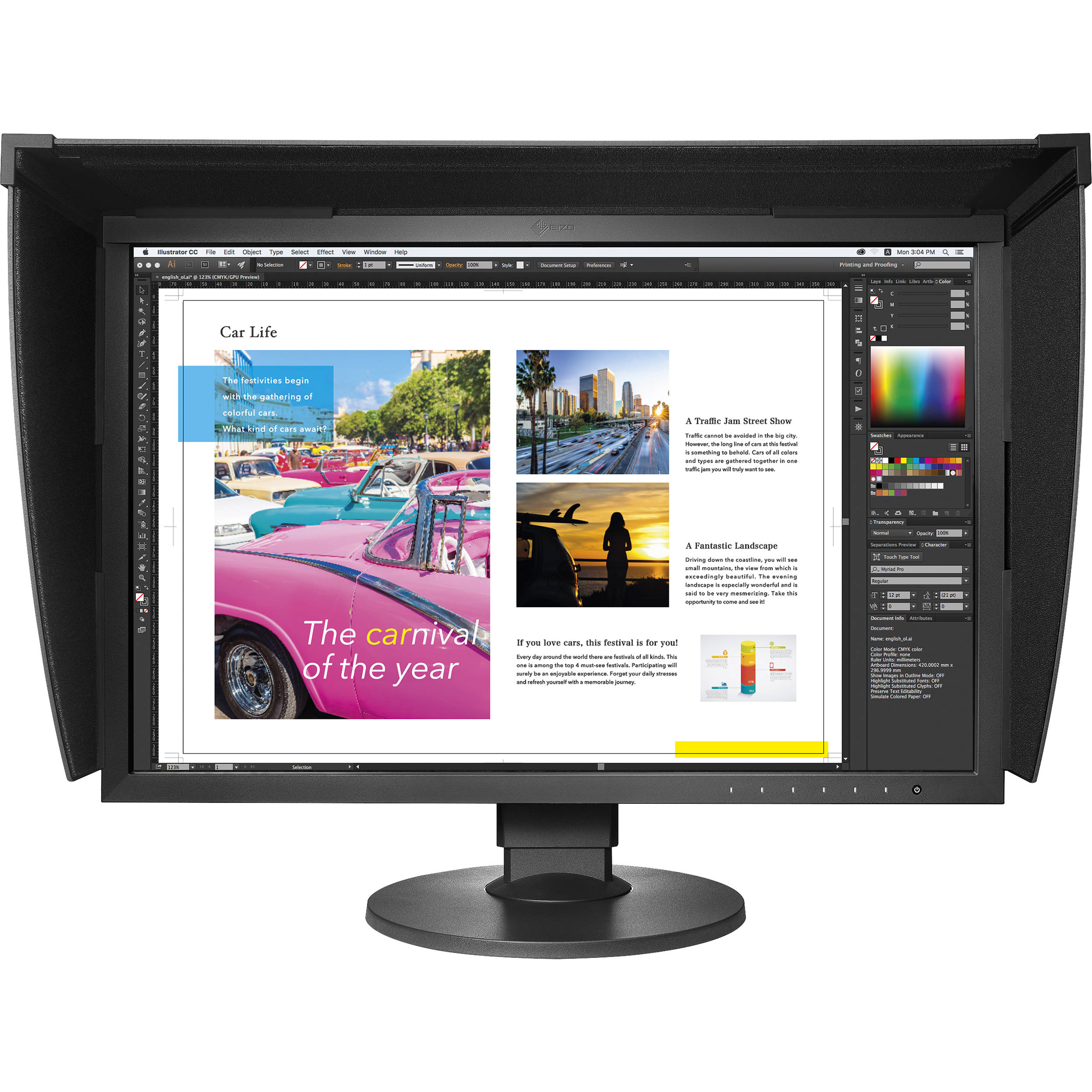 New Driver: EIZO LCD Screen Adjustment