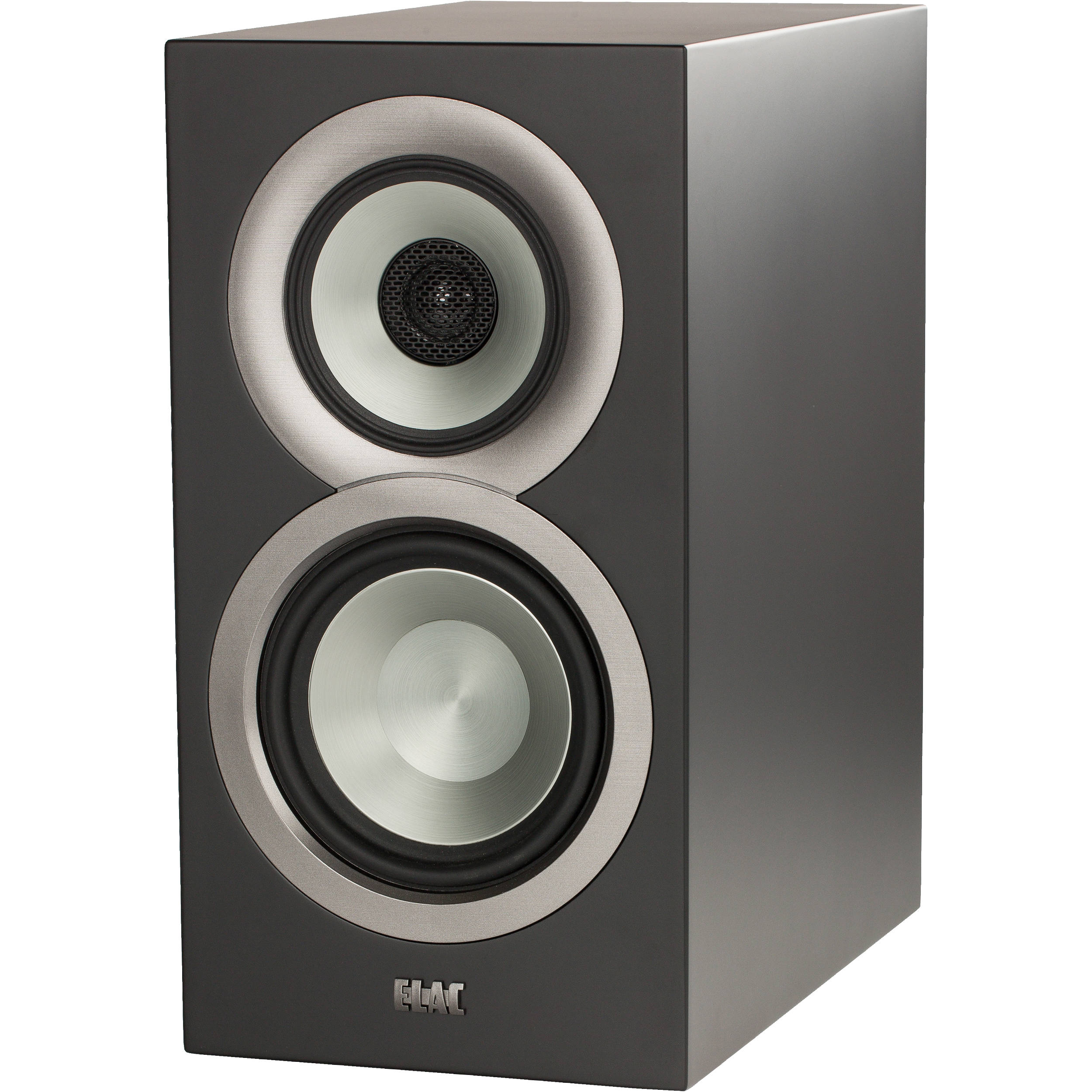 ELAC Uni Fi BS U5 Slim 3 Way Bookshelf Speakers Satin Black