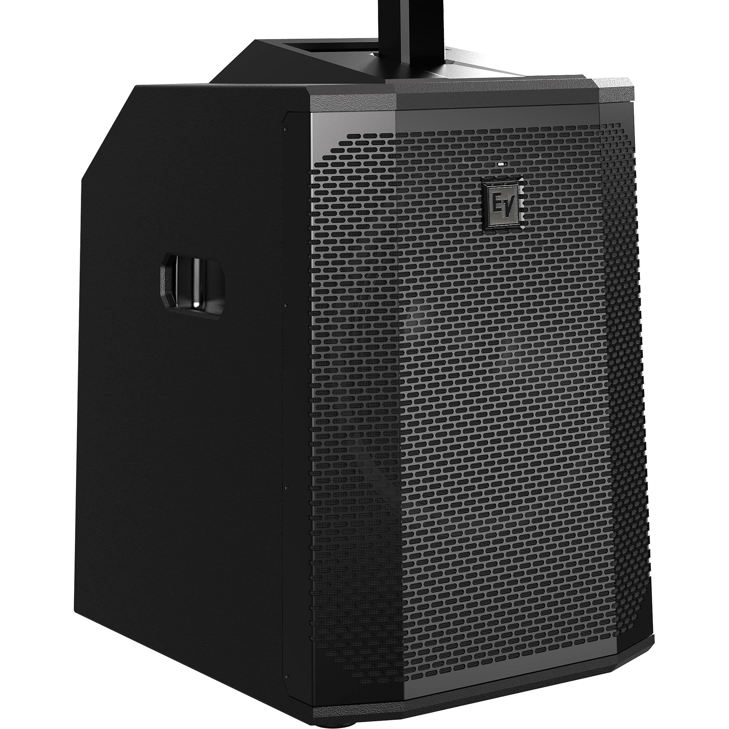 electro voice evolve 50 portable 1000w evolve50 sb us b h photo