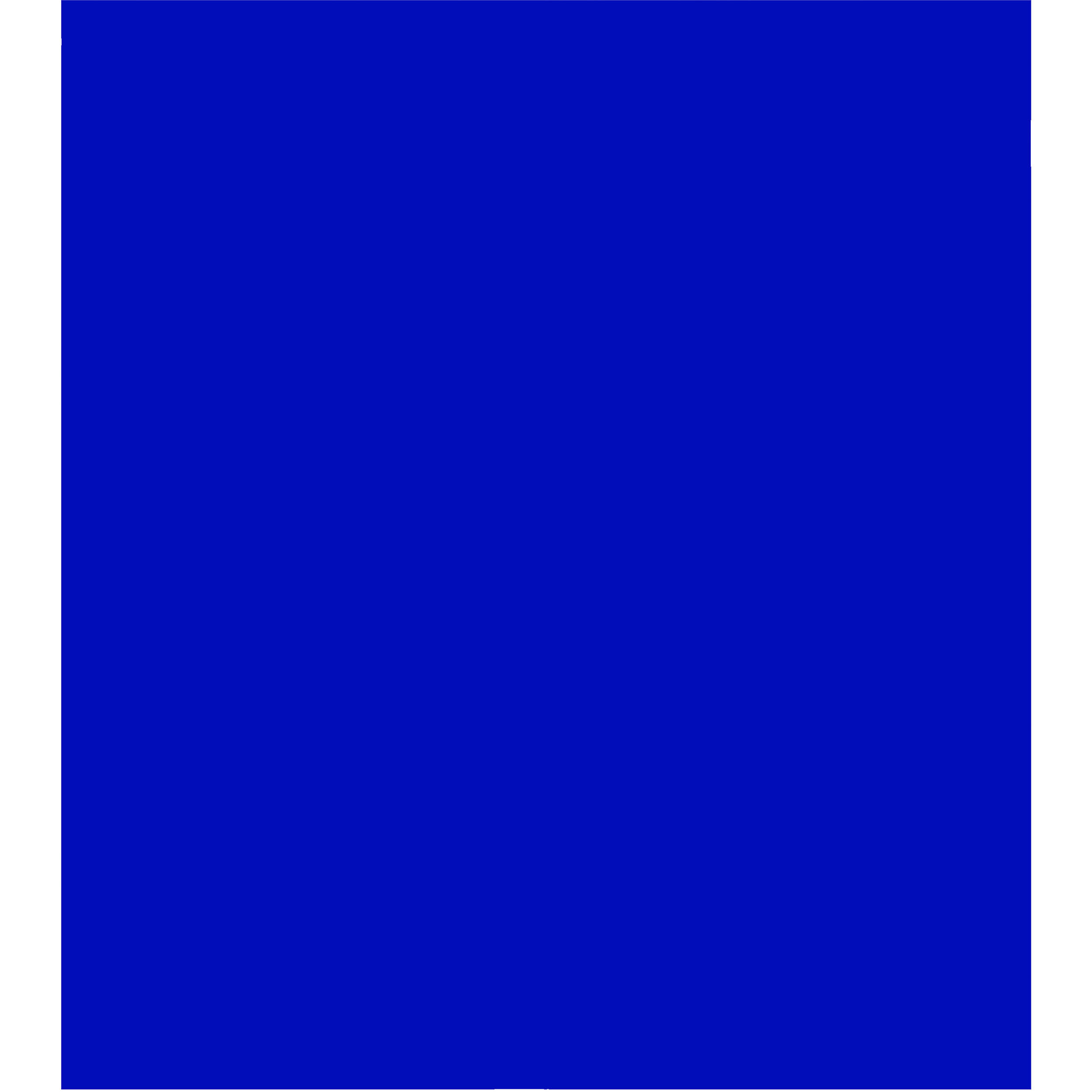 Eliminator Lighting Plastic Gel Sheet Blue 21 X 24