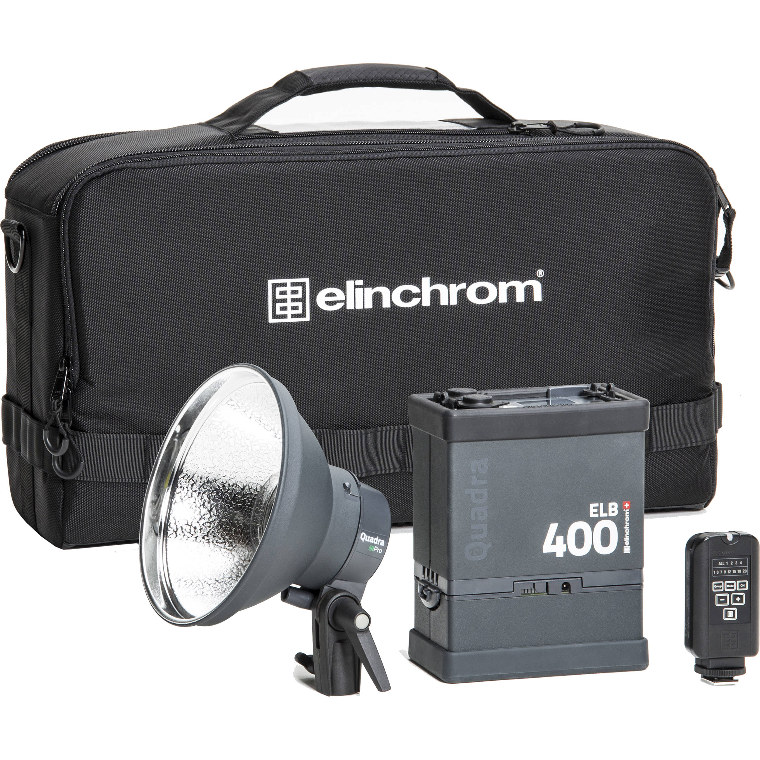 Elinchrom 500 Studio Lighting Kit: Elinchrom ELB 400 Pro To Go Kit EL10419.1 B&H Photo Video