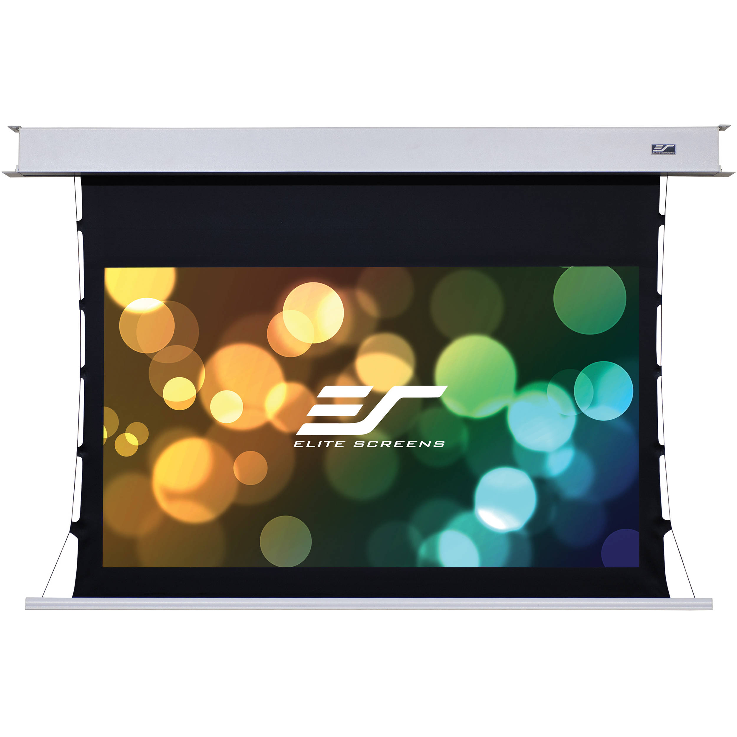 Elite screens evanesce tab tension b etb120hw2 e8 etb120hw2 e8 for Tab tensioned motorized projection screen