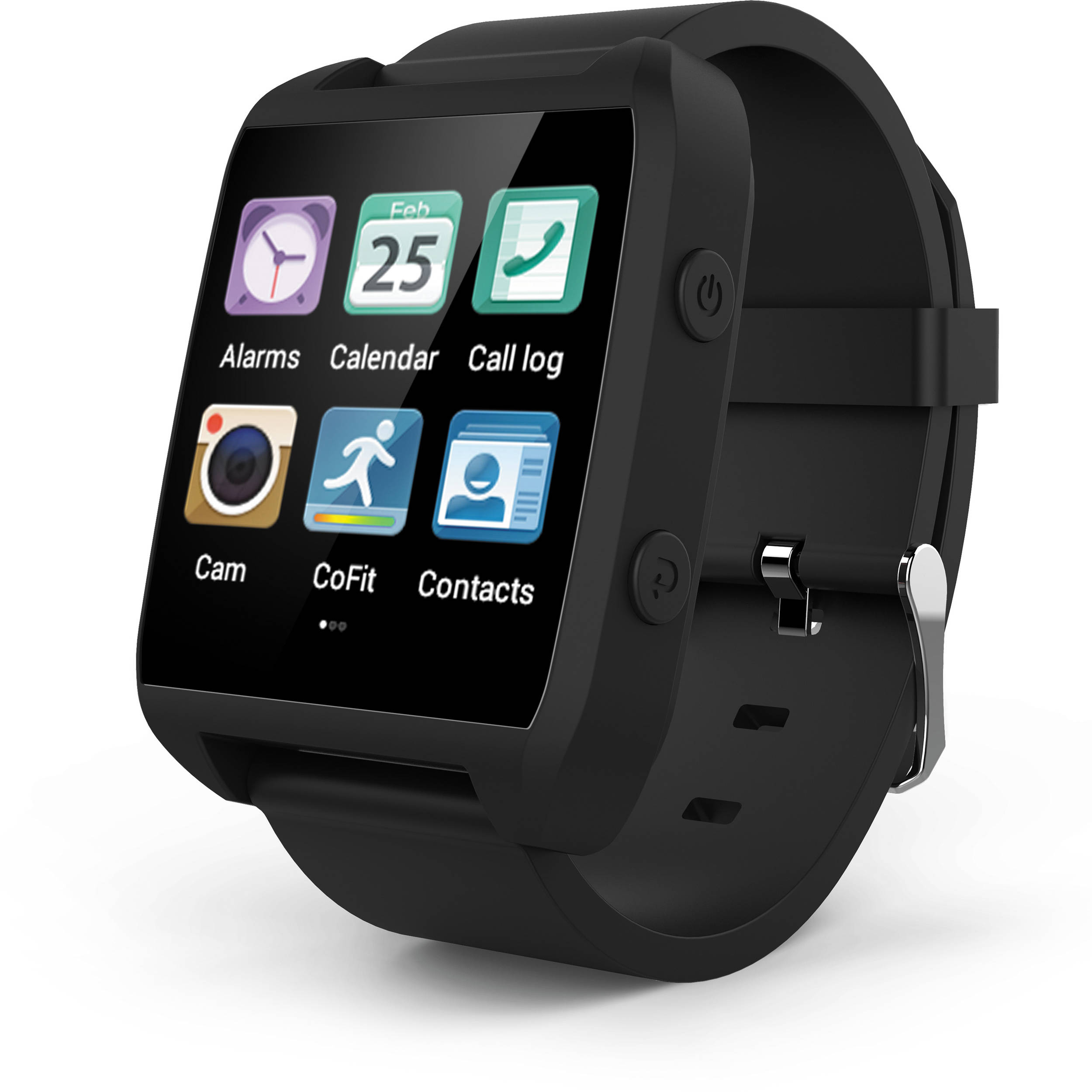 Ematic Smart Watch (Black) ESW454B B&H Photo Video