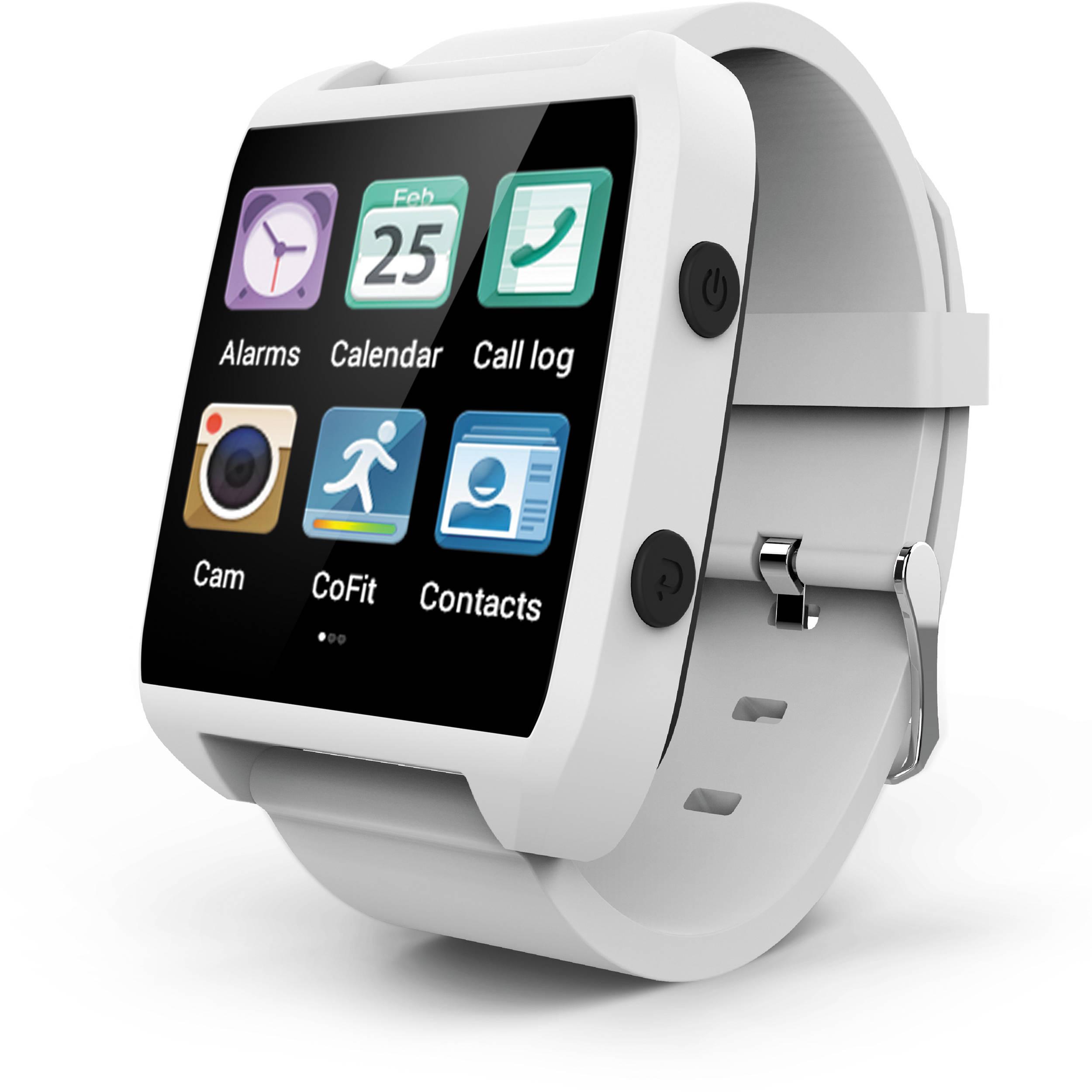 Ematic Smart Watch White Esw454w B Amp H Photo Video