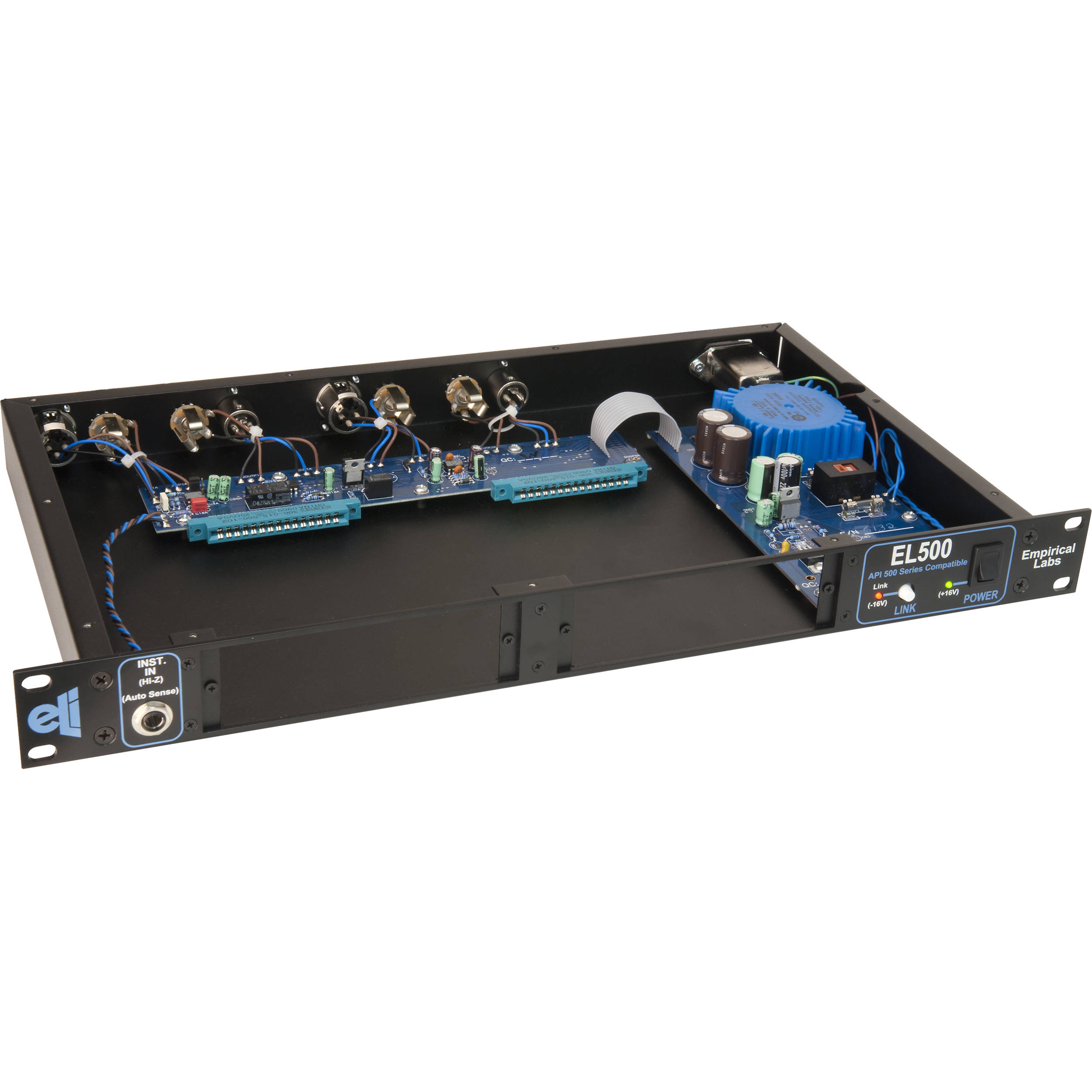 empirical labs el500 rack 2 channel api 500 series el500 88943