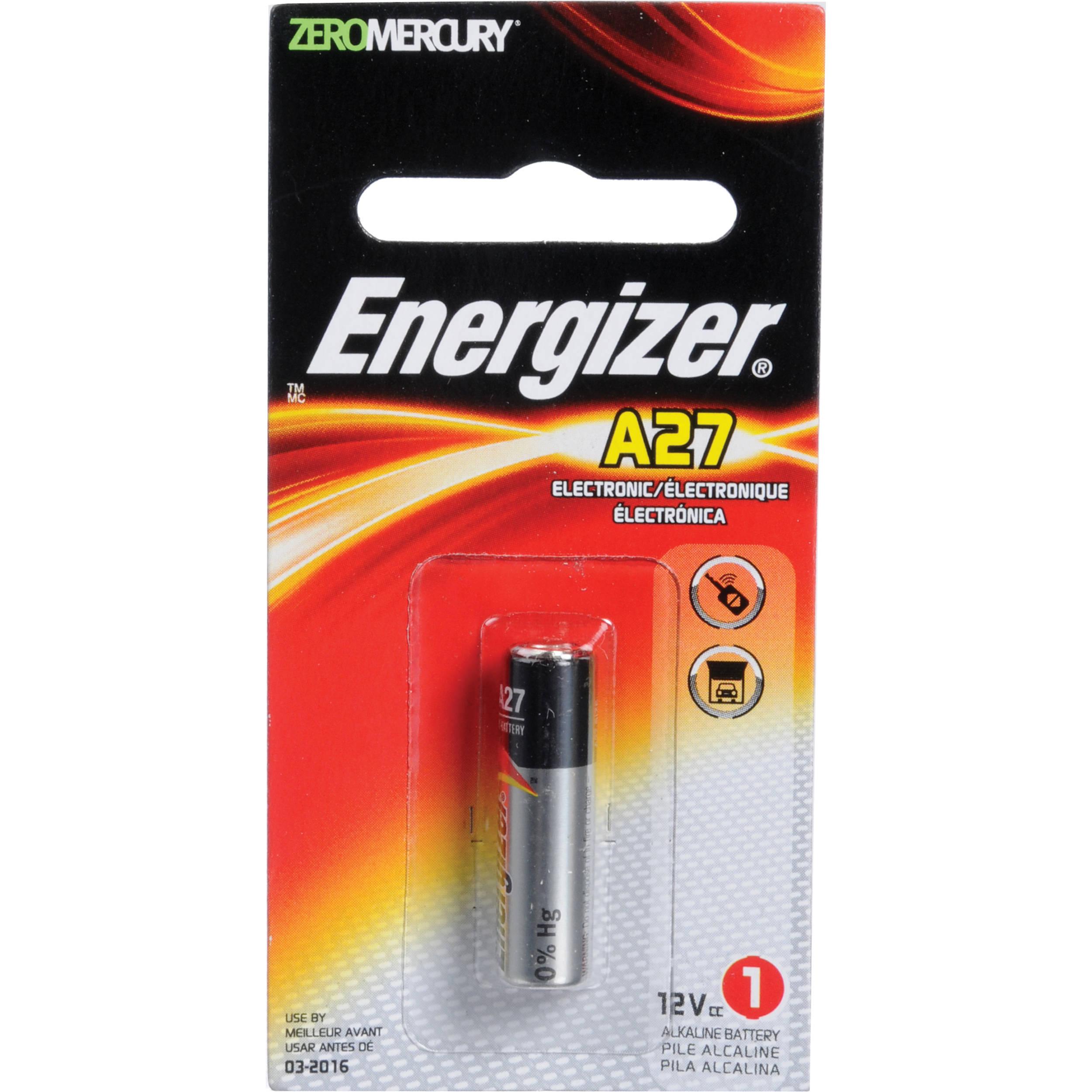 Energizer A27 12v Alkaline Battery A27 B Amp H Photo Video
