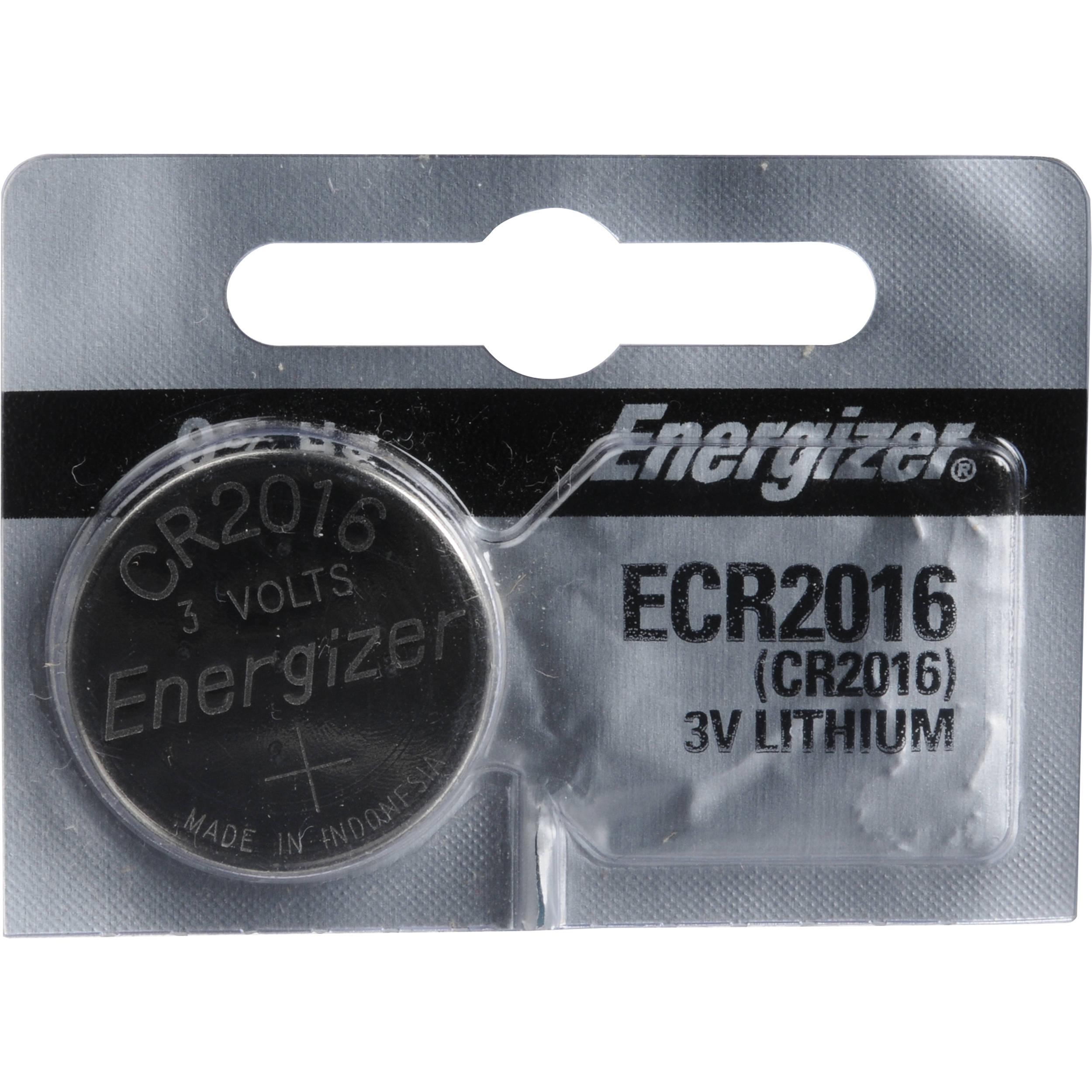 energizer cr2016 lithium coin battery ecr2016ts b h photo video. Black Bedroom Furniture Sets. Home Design Ideas