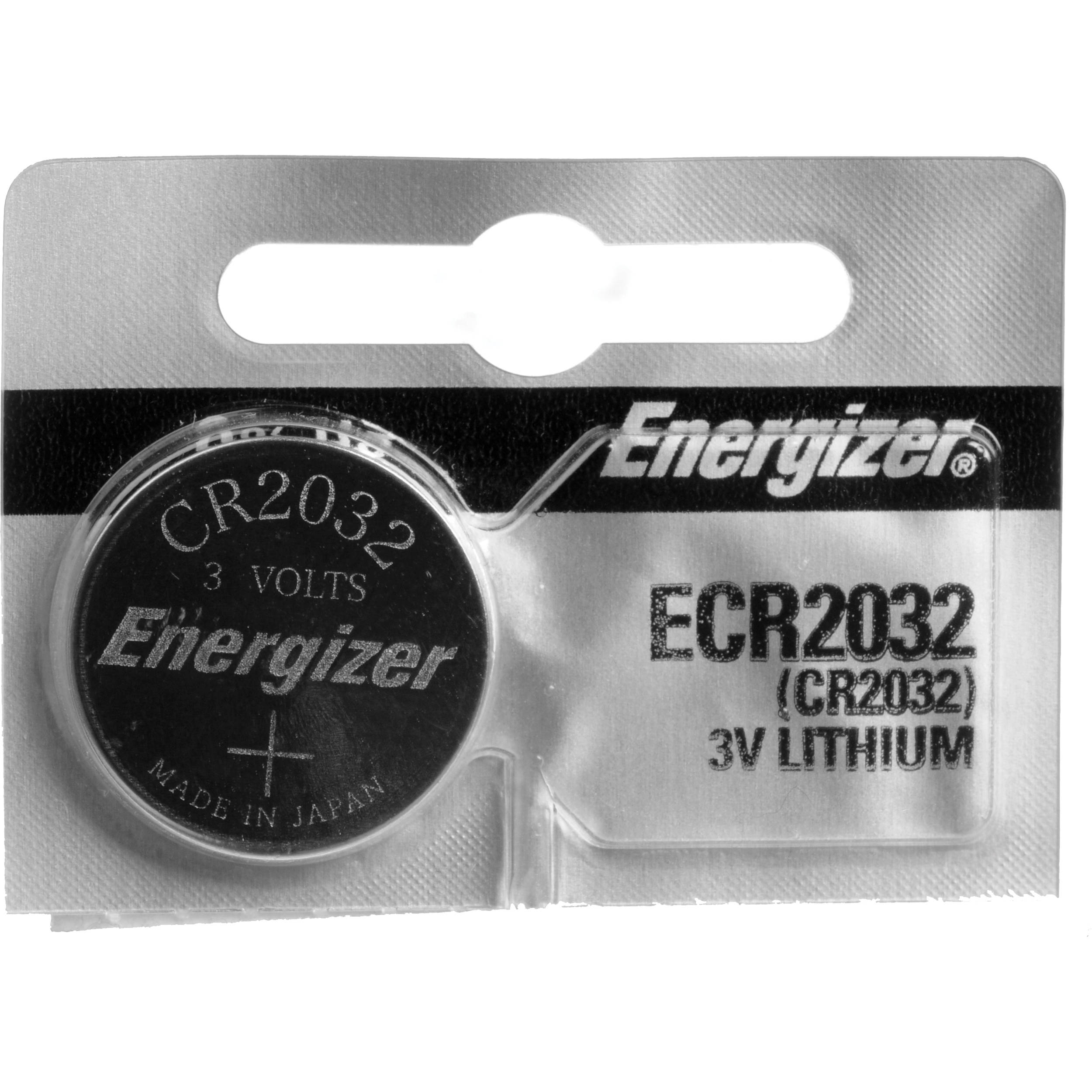 energizer cr2032 lithium coin battery cr2032 b h photo video. Black Bedroom Furniture Sets. Home Design Ideas