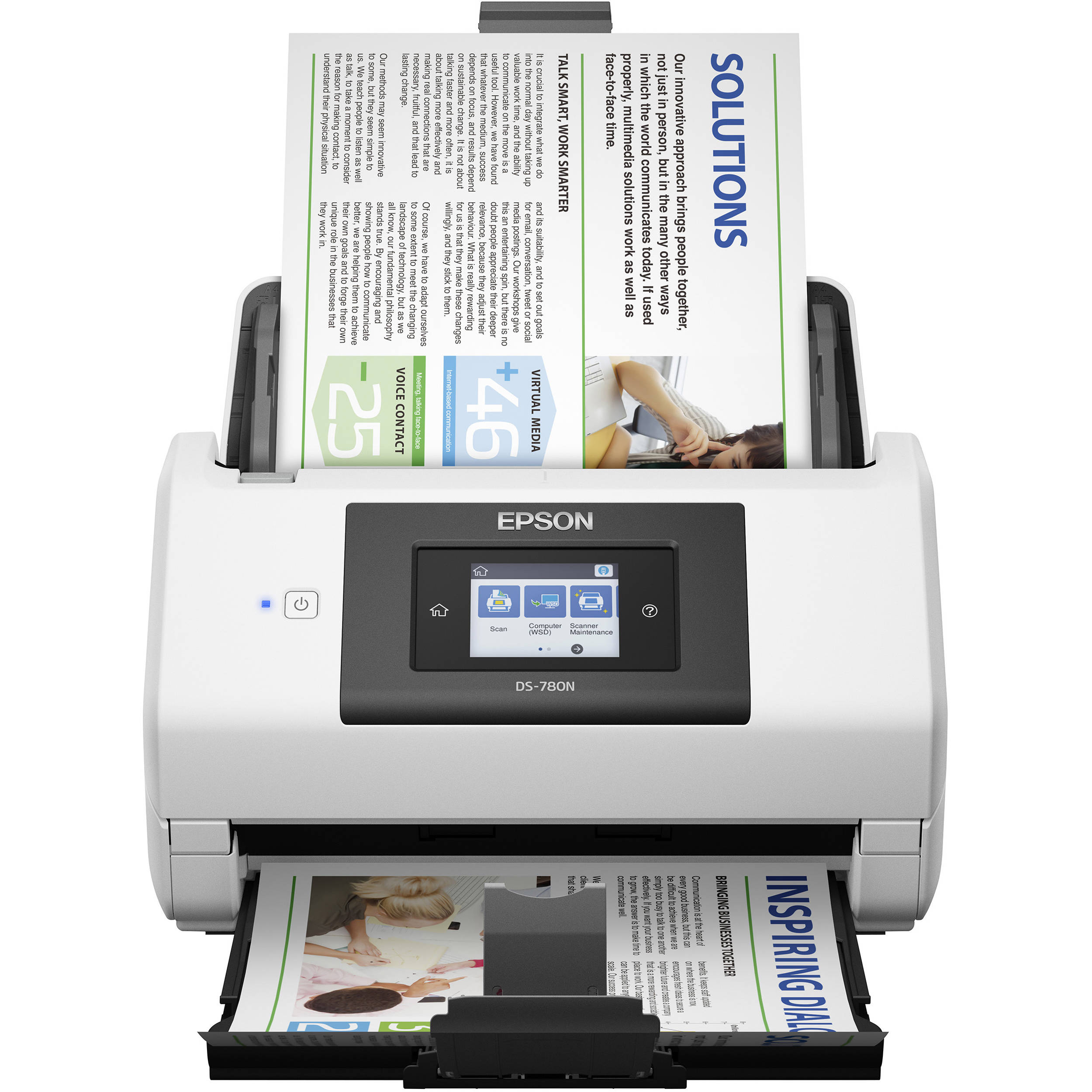 epson ds 780n network color document scanner b11b227201 bh With epson ds 780n network color document scanner