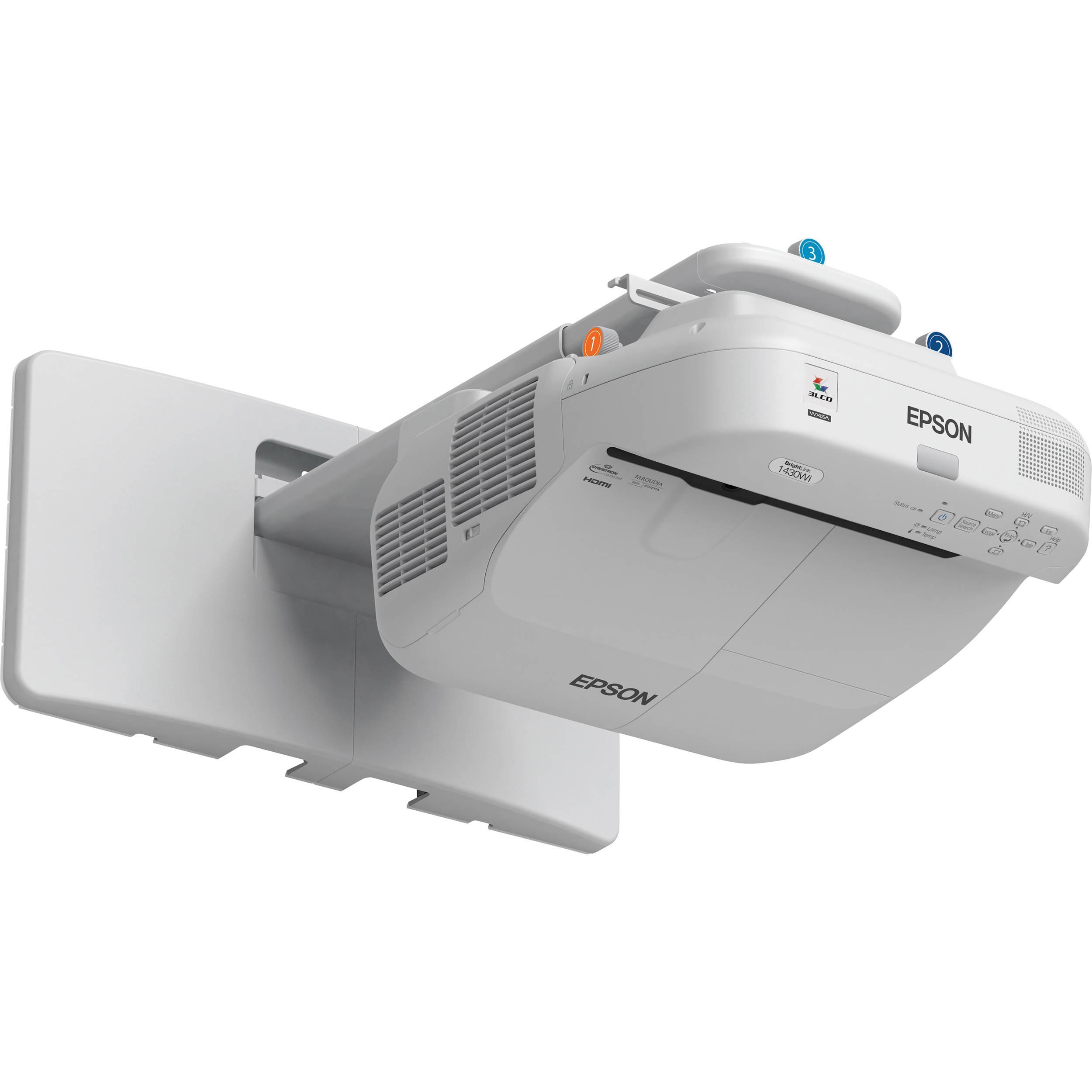 Epson Brightlink Pro 1430wi Interactive Wxga 3lcd V11h665520w