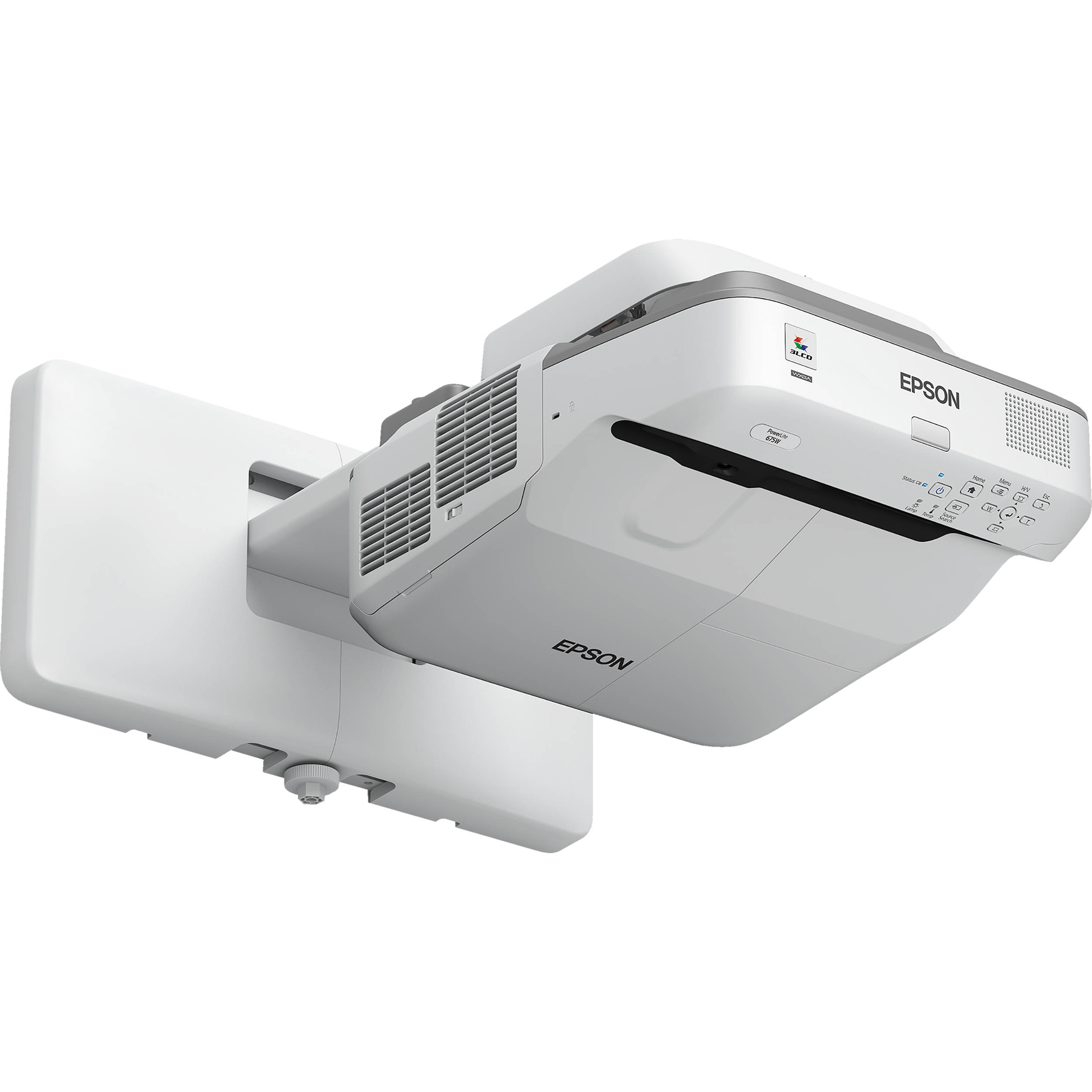 Epson Powerlite 675w 3200 Lumen Wxga Ultra Short V11h745520 Bh Eb W31 Projector Mount Not Included