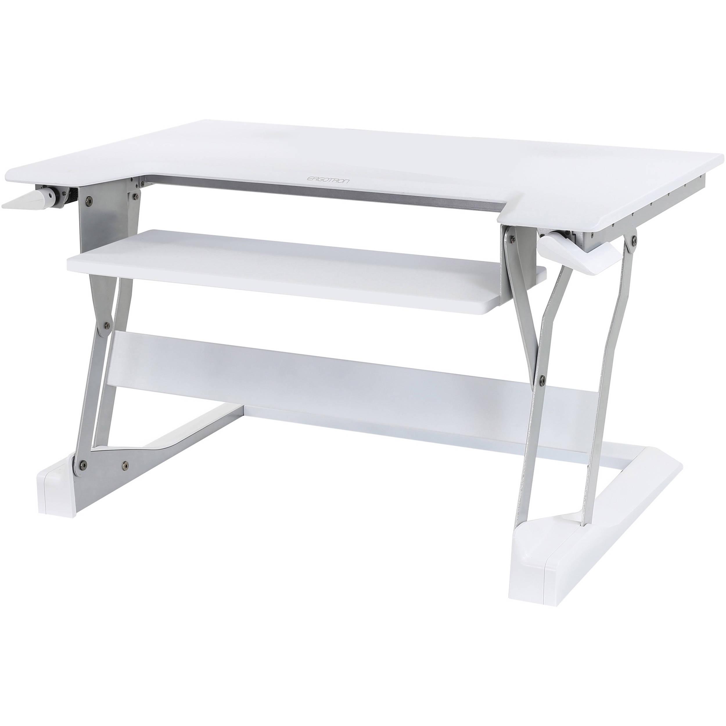 Ergotron Workfit T Sit Stand Desktop Workstation 33 397