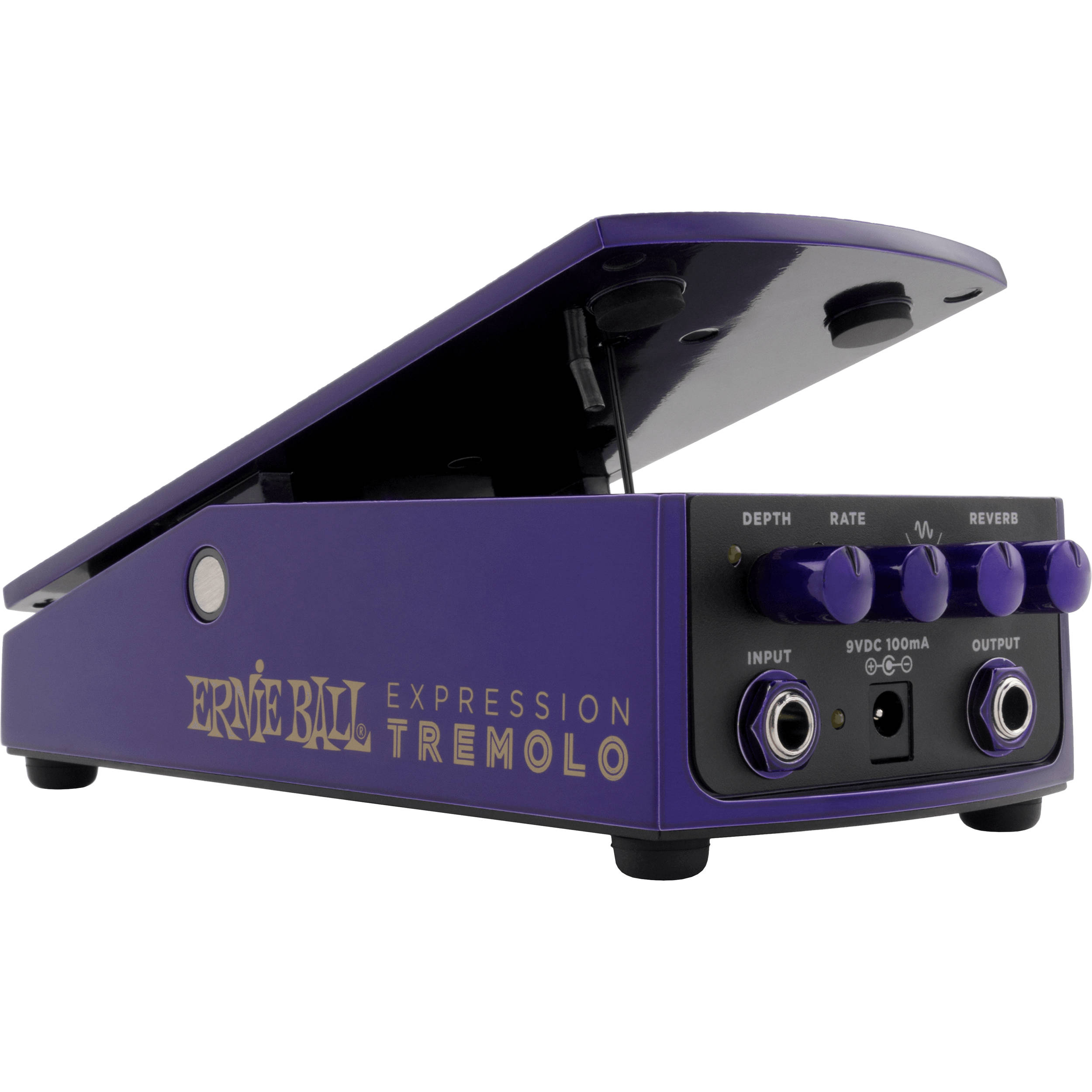 ernie ball expression tremolo pedal p06188 b h photo video. Black Bedroom Furniture Sets. Home Design Ideas