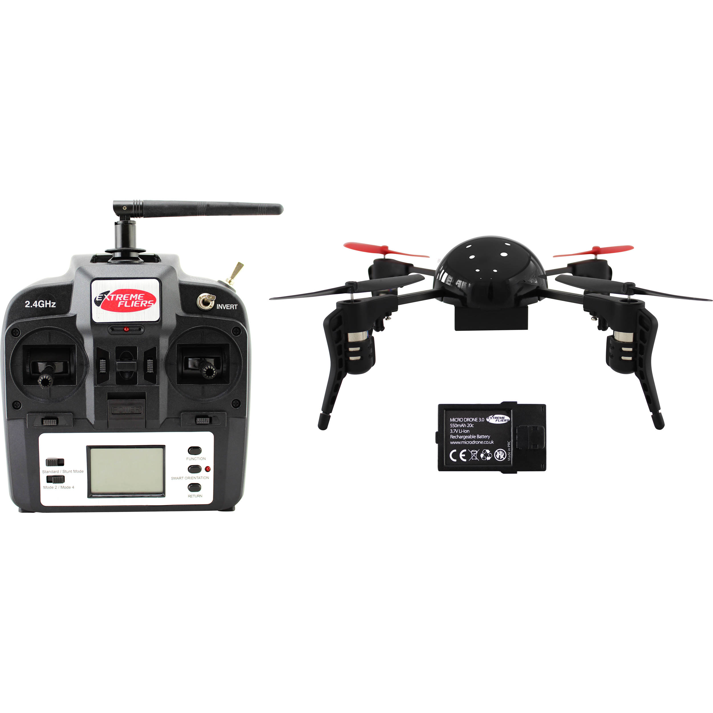 Extreme Fliers Micro Drone 30 Basic No Camera