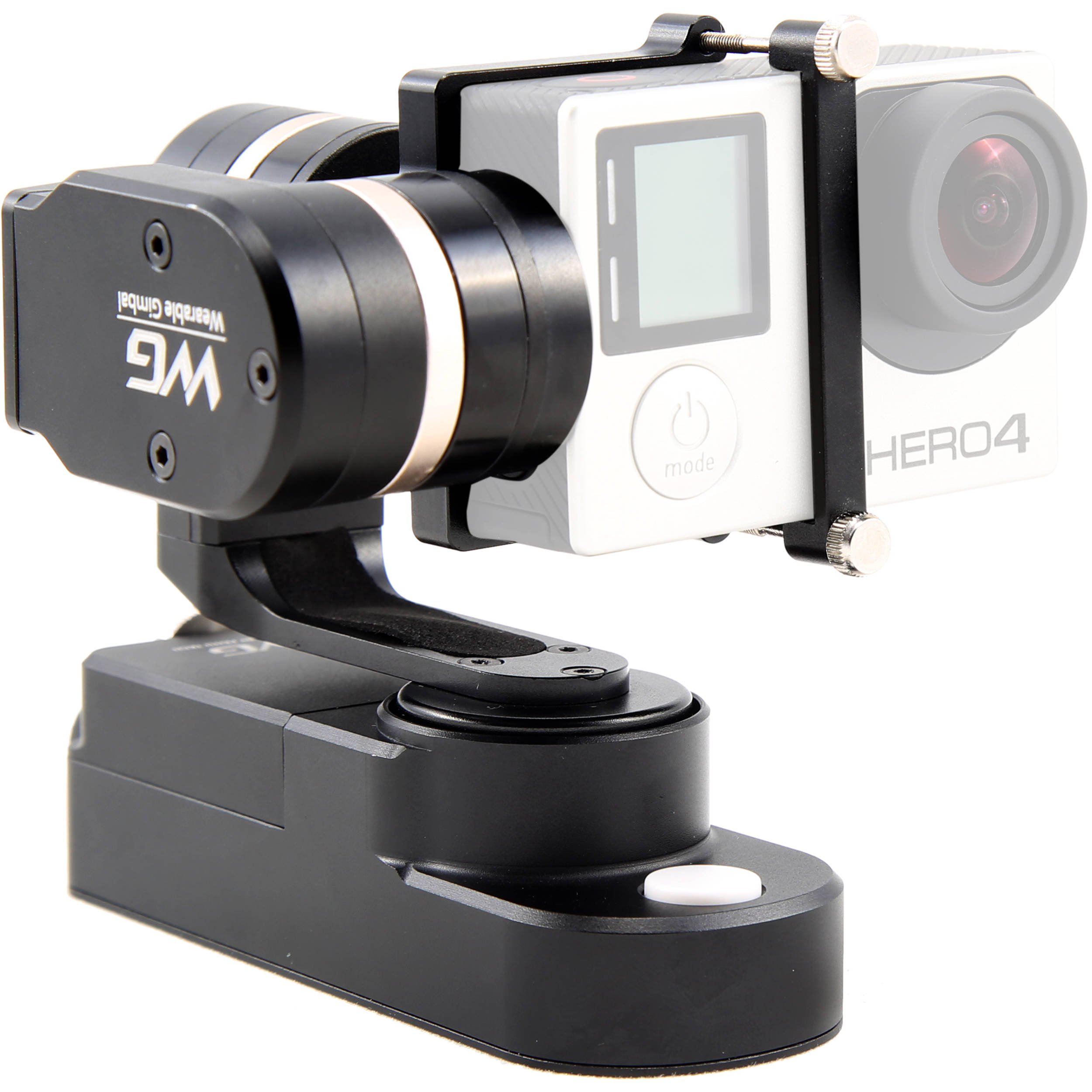 Feiyu Wg 3 Axis Wearable Gimbal For Gopro And Similar Fy Bh Spg Handheld Steady Smartphones Extra Battrey Action Cameras Camera Not Included