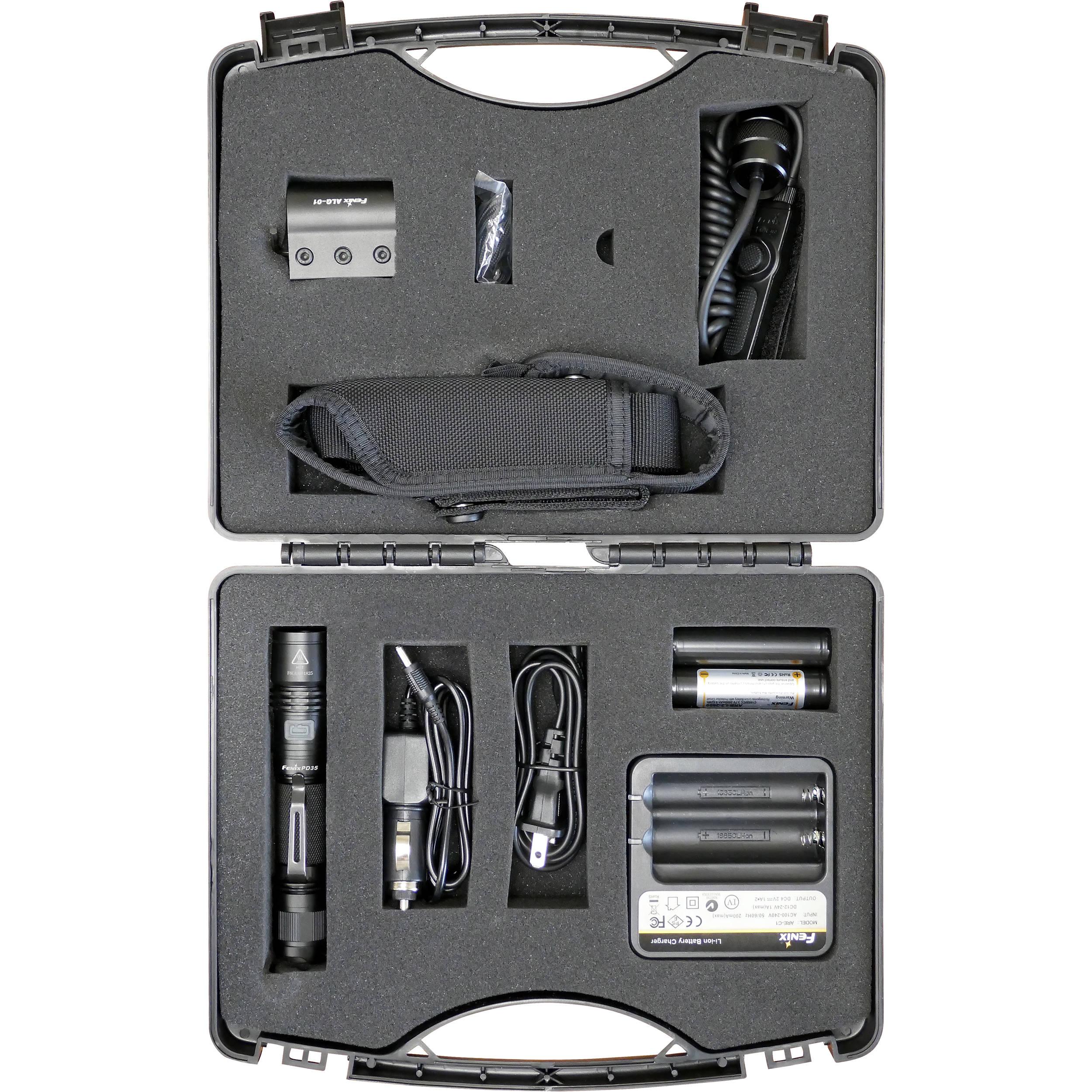 Fenix Flashlight PD35 Tactical LED Flashlight Kit GNKT-PD35TAC