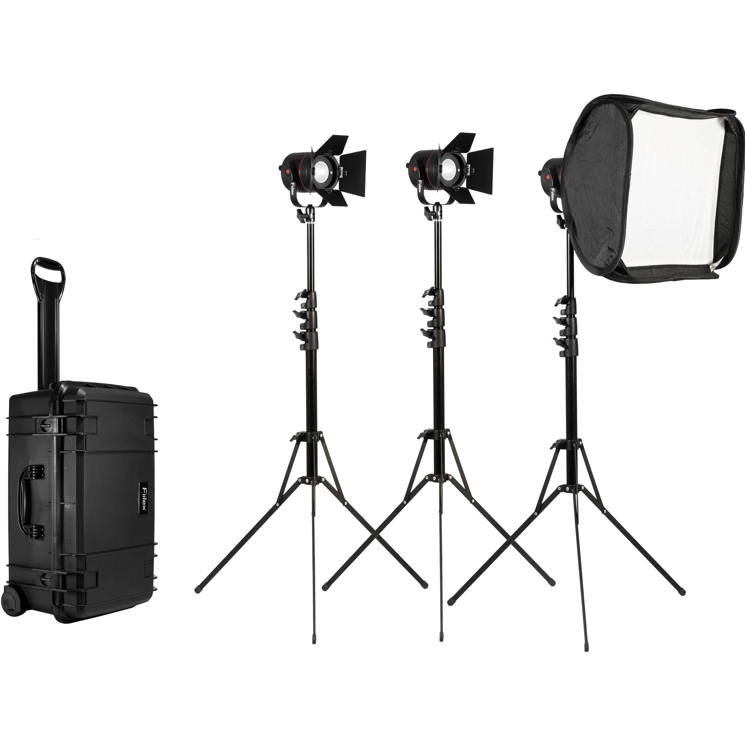 Fiilex K302 3-Light P360EX LED Lighting Kit  sc 1 st  Bu0026H & Fiilex K302 3-Light P360EX LED Lighting Kit FLXK302 Bu0026H Photo