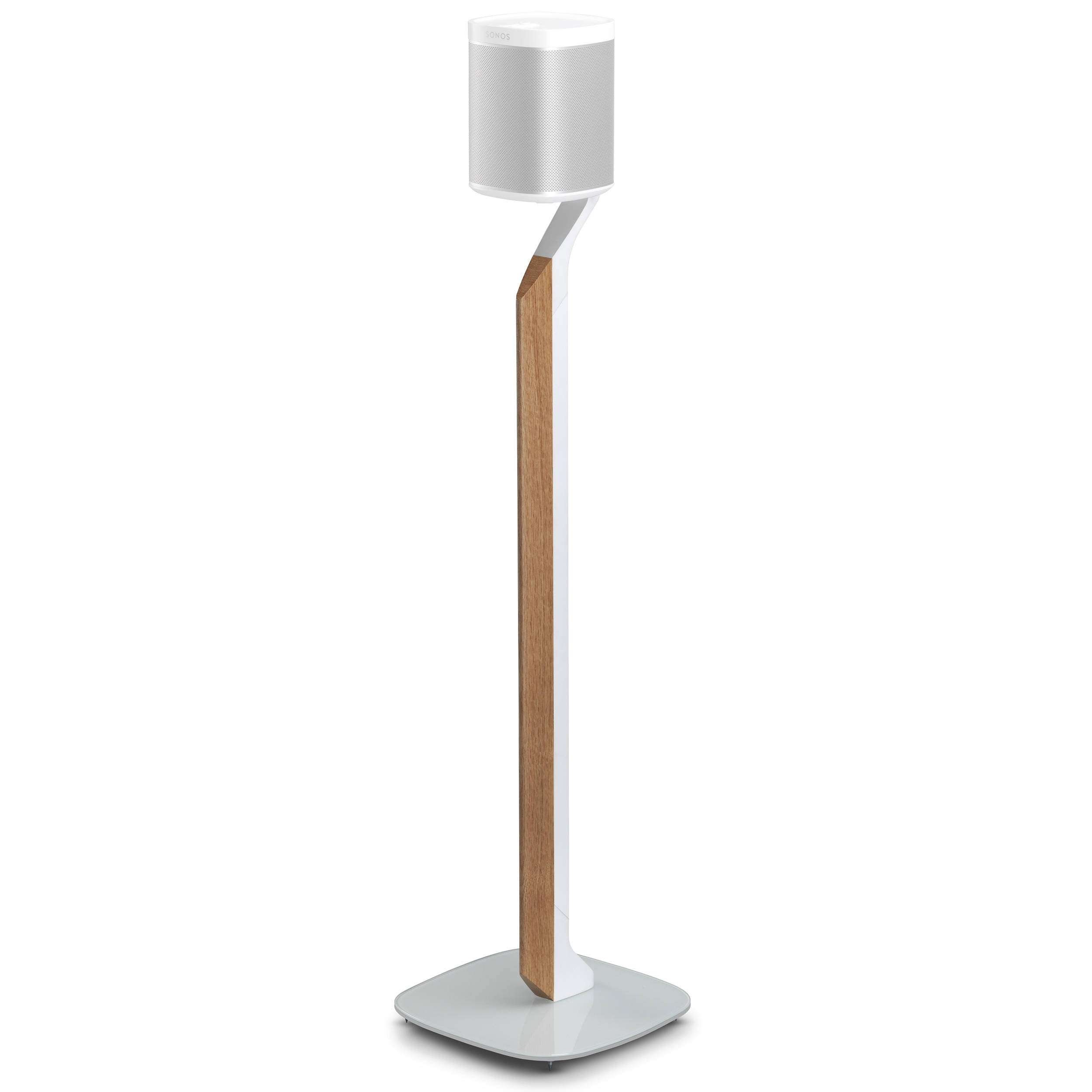 flexson premium floor stand for sonos play 1 flxp1pfs1011 b h. Black Bedroom Furniture Sets. Home Design Ideas