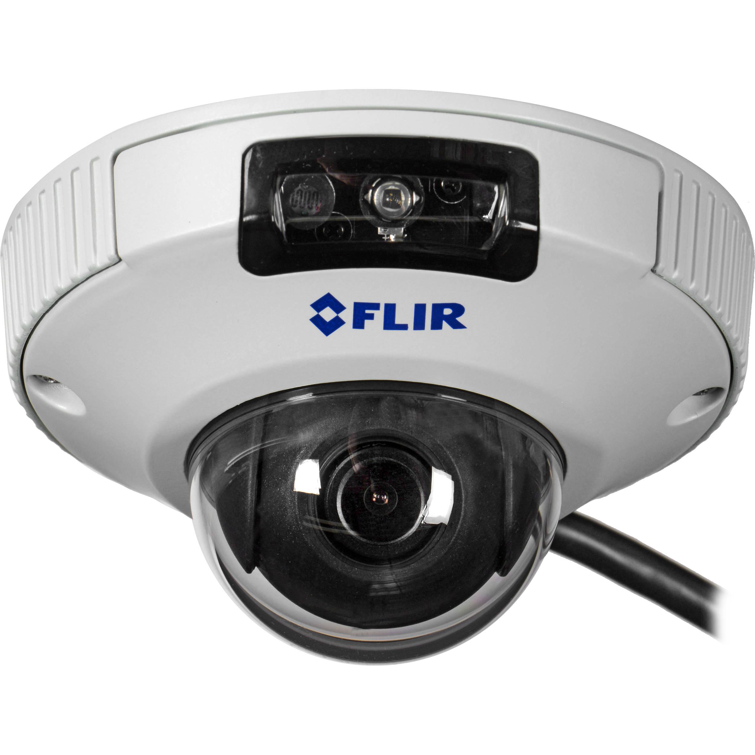 flir 2 1mp fixed lens mini dome ip camera with ir. Black Bedroom Furniture Sets. Home Design Ideas