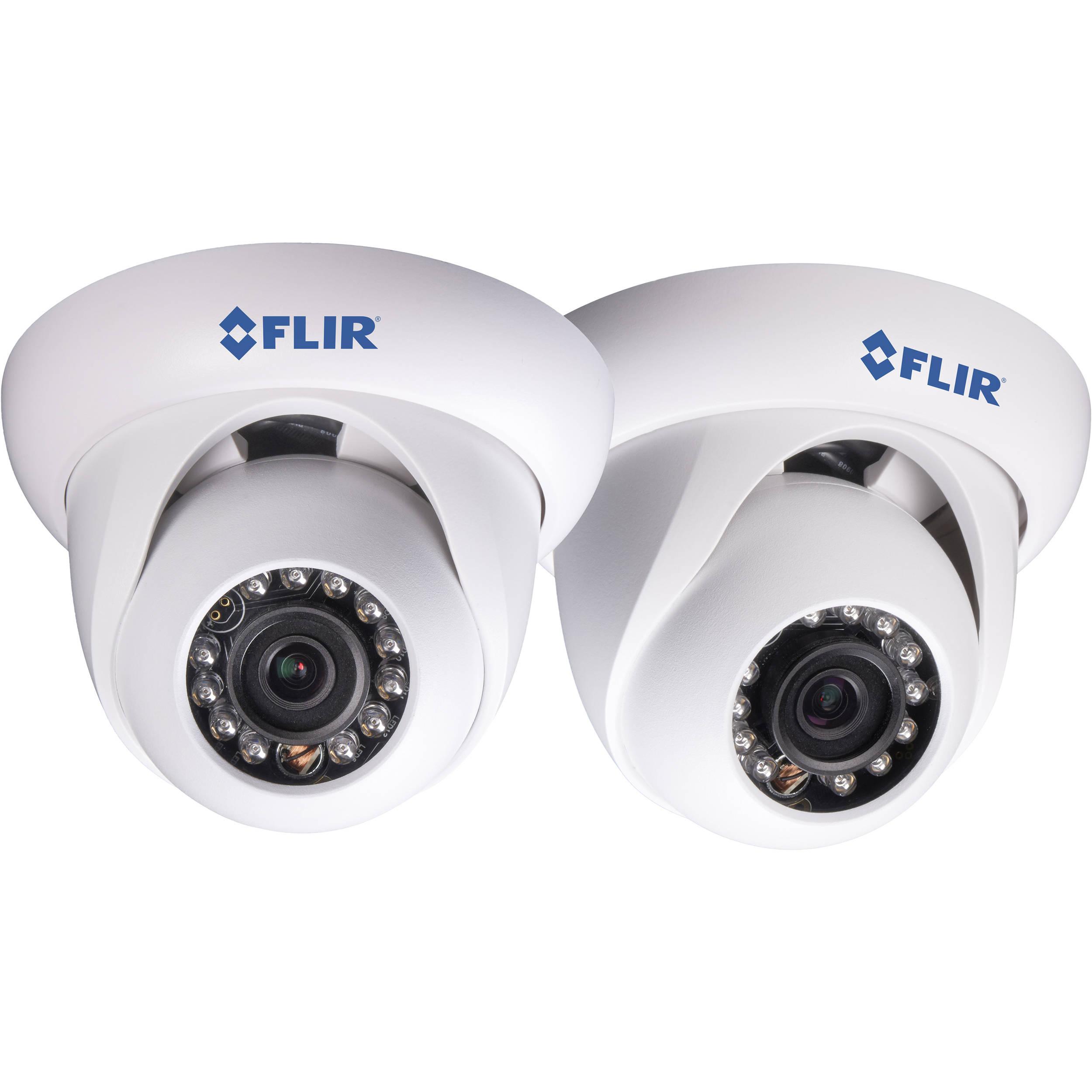 FLIR 2.1MP IR Dome IP Camera with 3.6mm Fixed Lens DNE12TL22 B&H