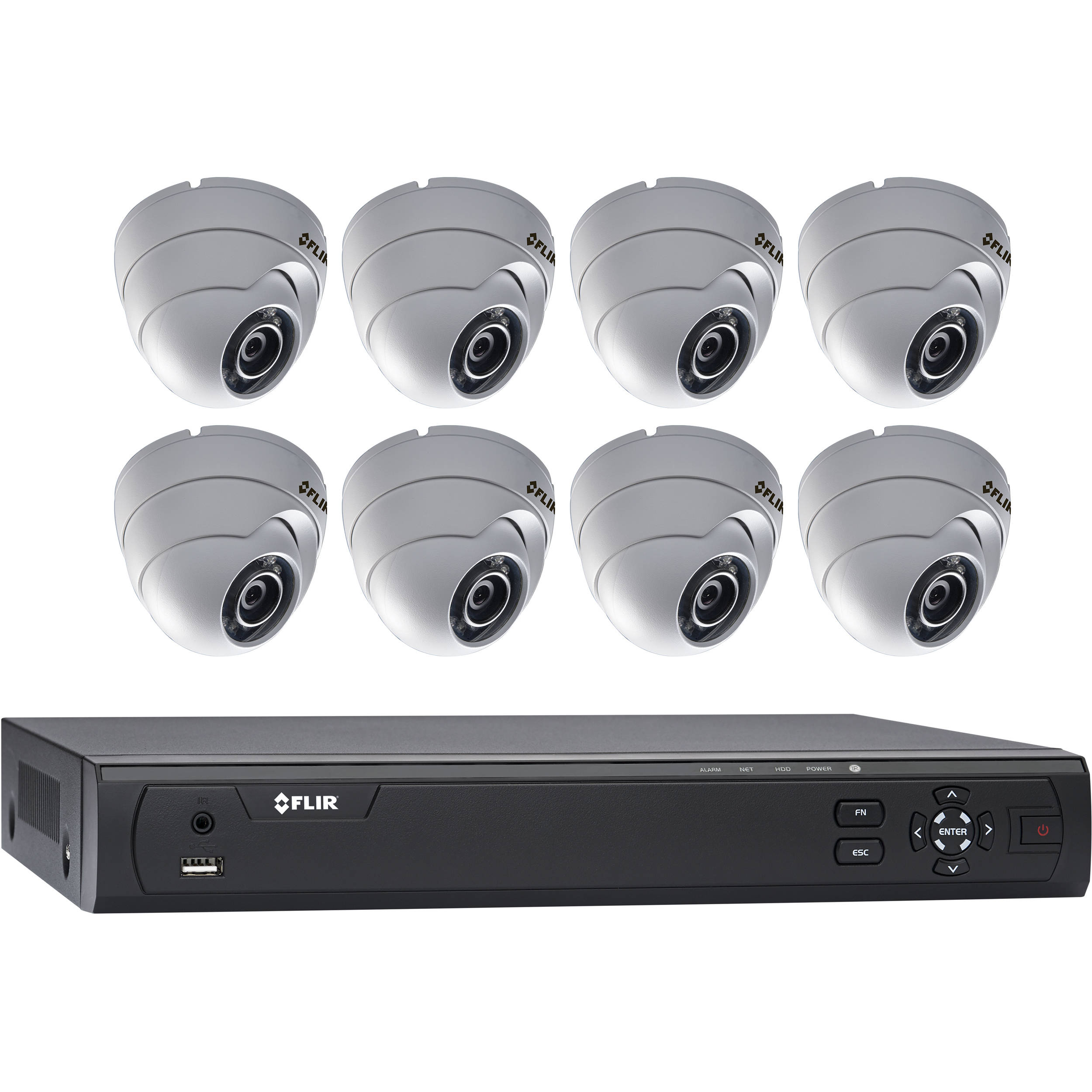 Flir Mpx M3100e Series 8 Channel Dvr With 3tb Hdd And 8
