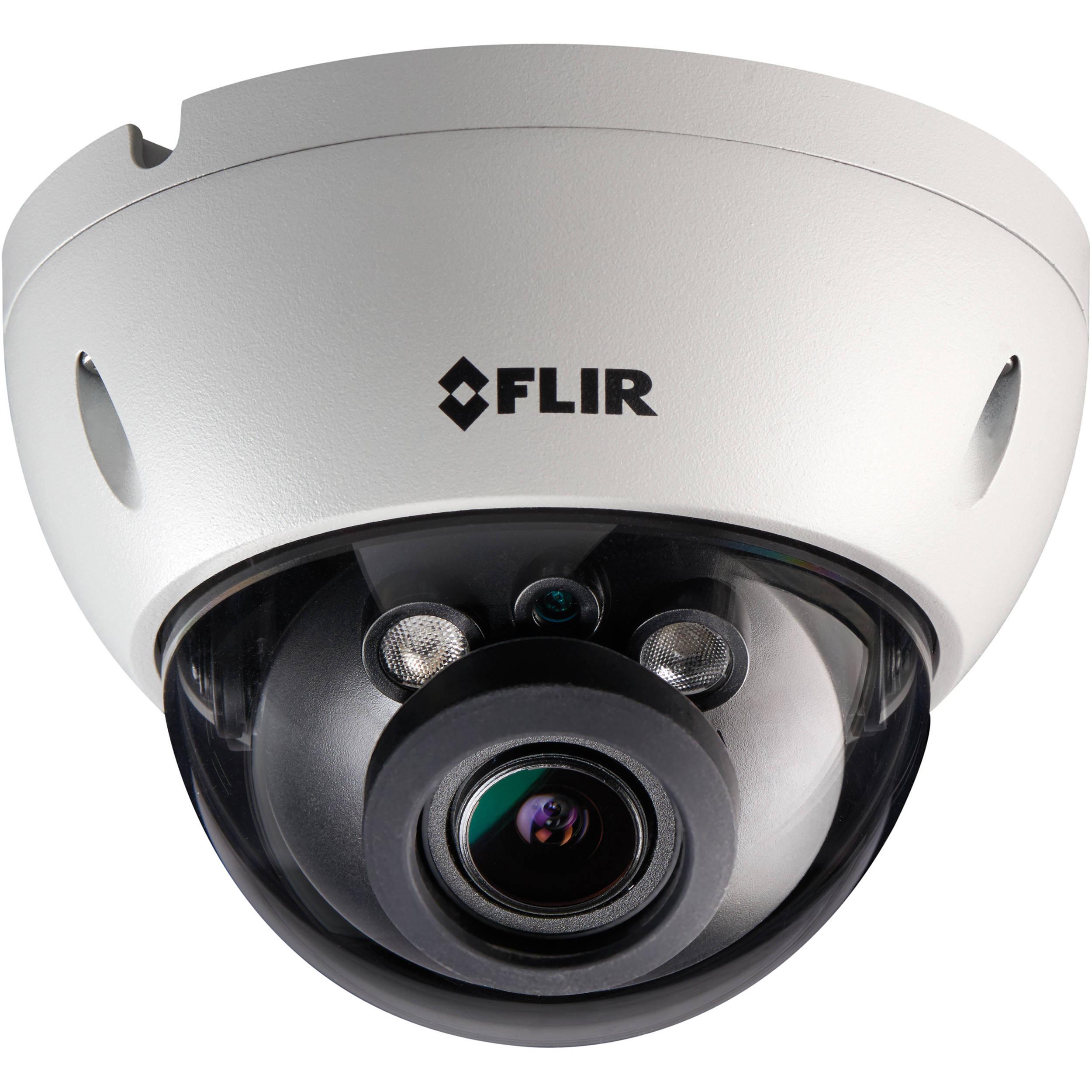 flir n237ve 3mp 1080p ir vandal dome ip camera with 2 8 n237ve. Black Bedroom Furniture Sets. Home Design Ideas