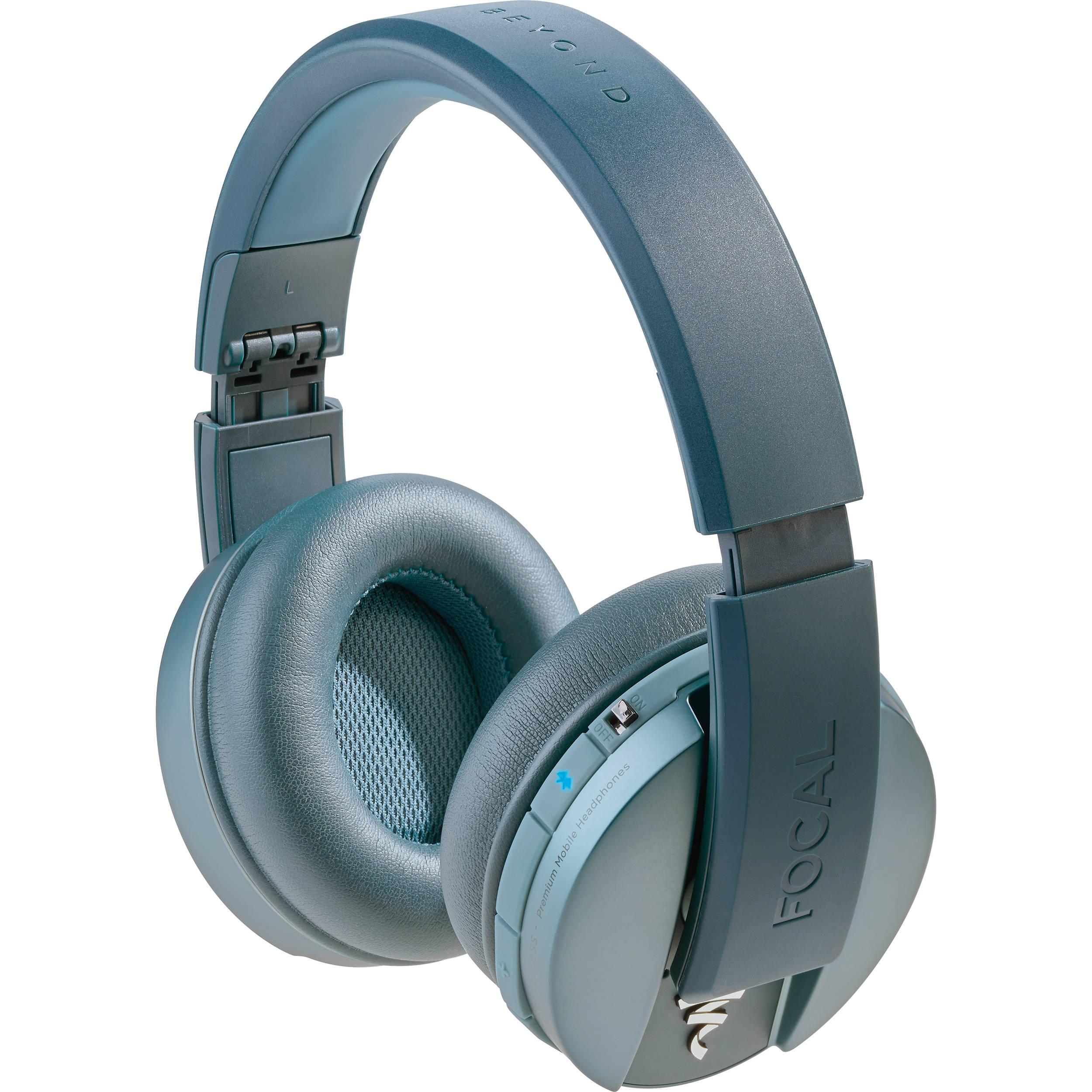 8556f6e9d46 Focal Listen Wireless Chic Over-Ear Headphones FLISTENWL-BLU B&H