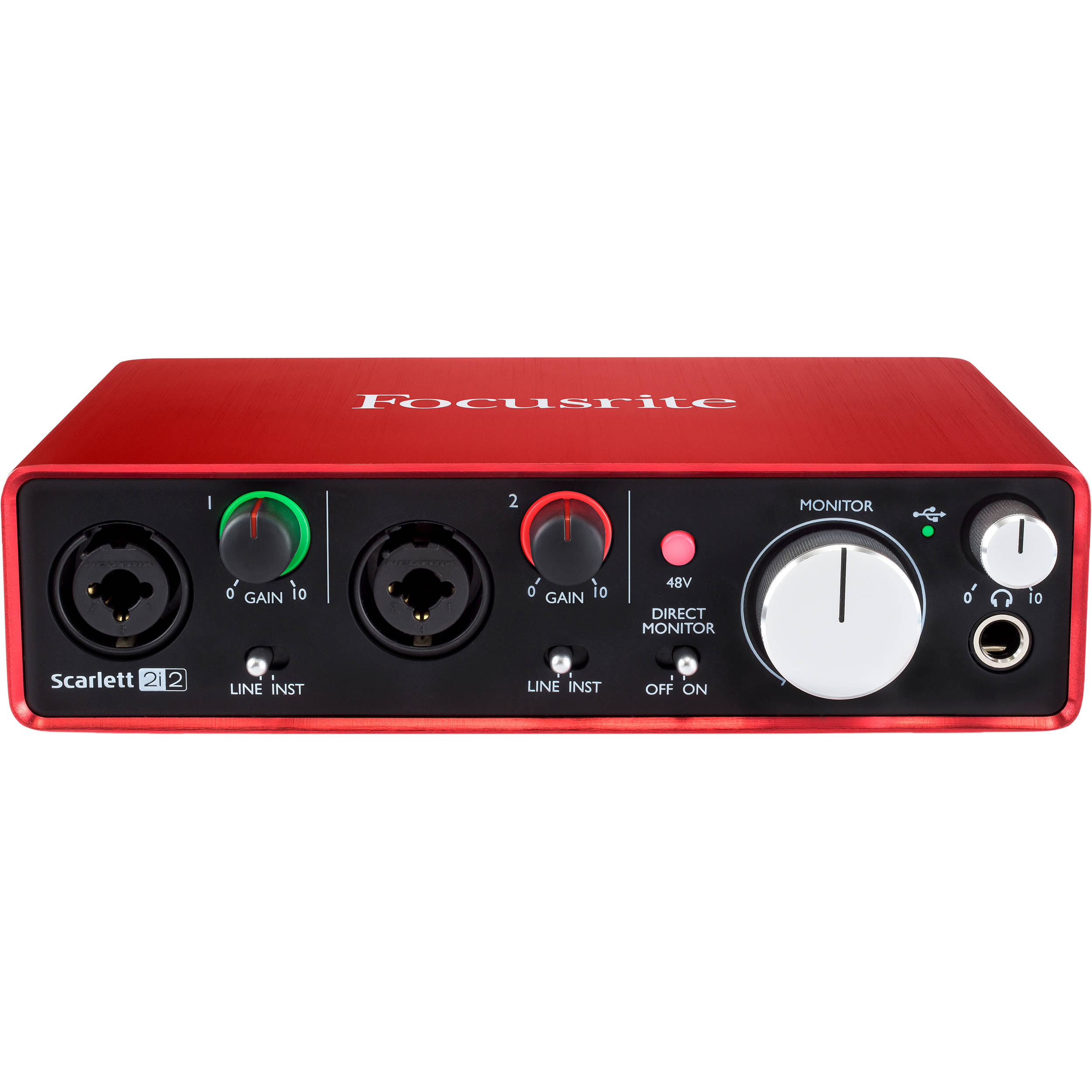 Focusrite Audio Interfaces : focusrite scarlett 2i2 usb audio interface scarlett 2i2 2nd gen ~ Hamham.info Haus und Dekorationen