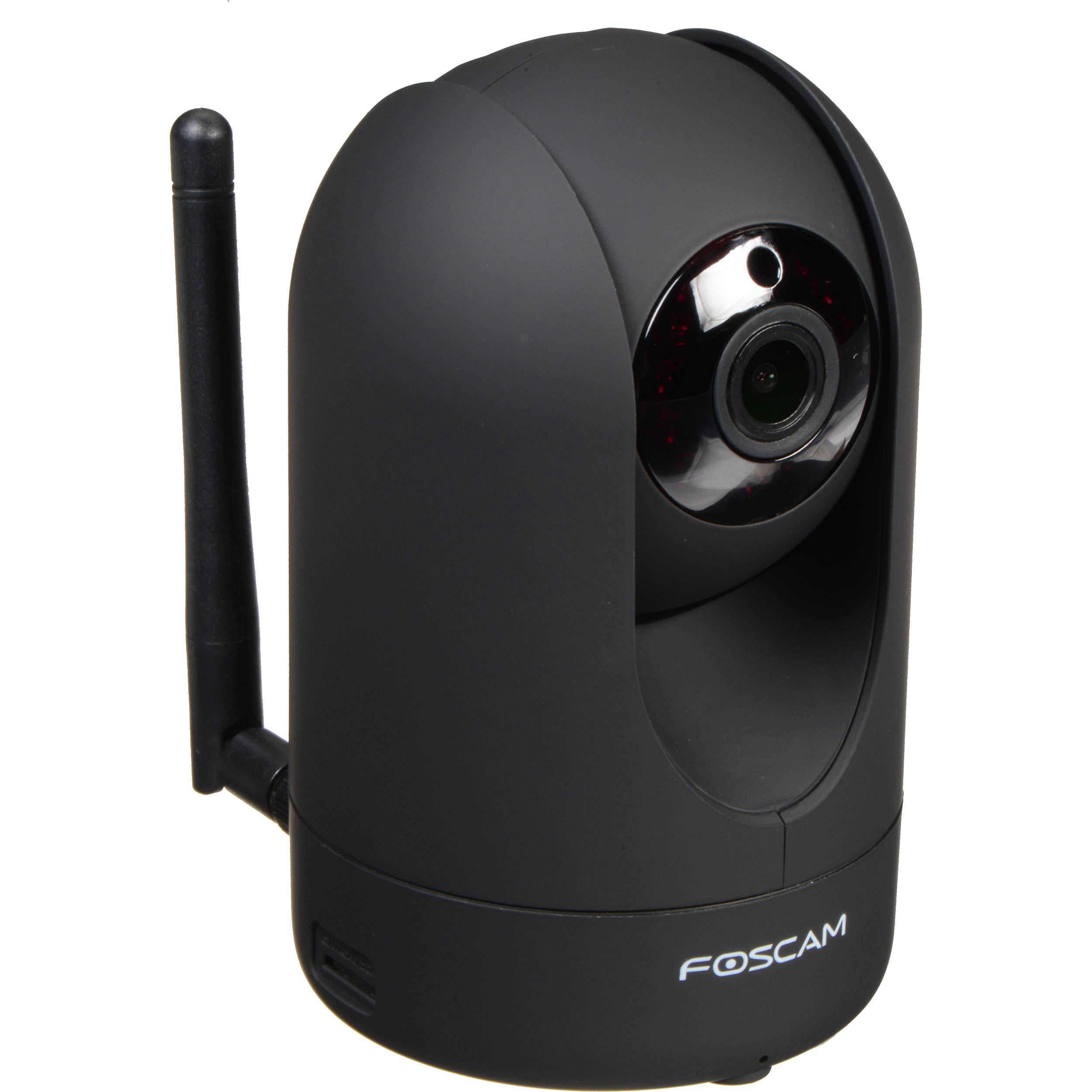 Foscam R2 1080p Wireless Camera with Night Vision (Black) R2-B