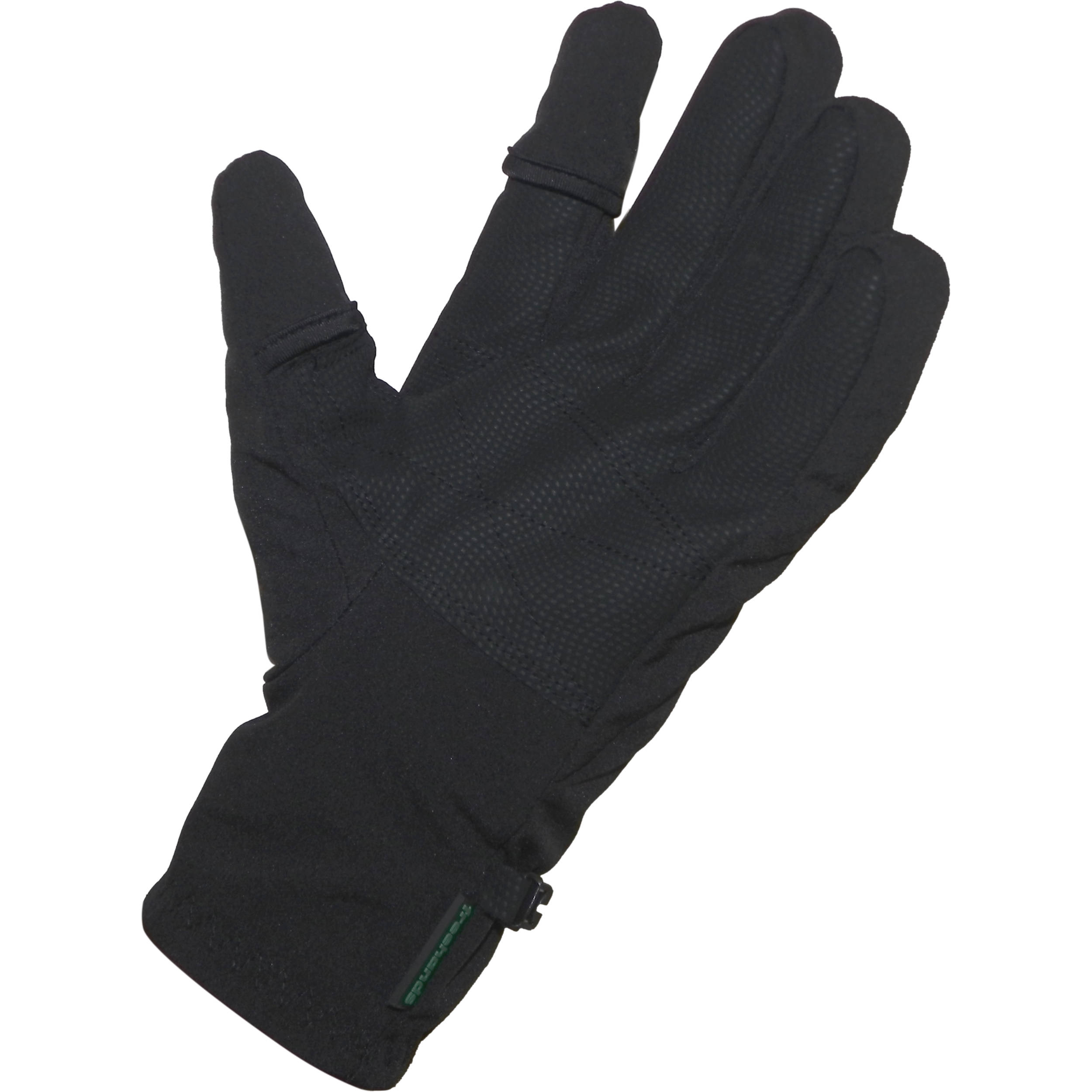 Womens leather gloves thinsulate lining - Freehands Men S Softshell Photo Gloves Large Black