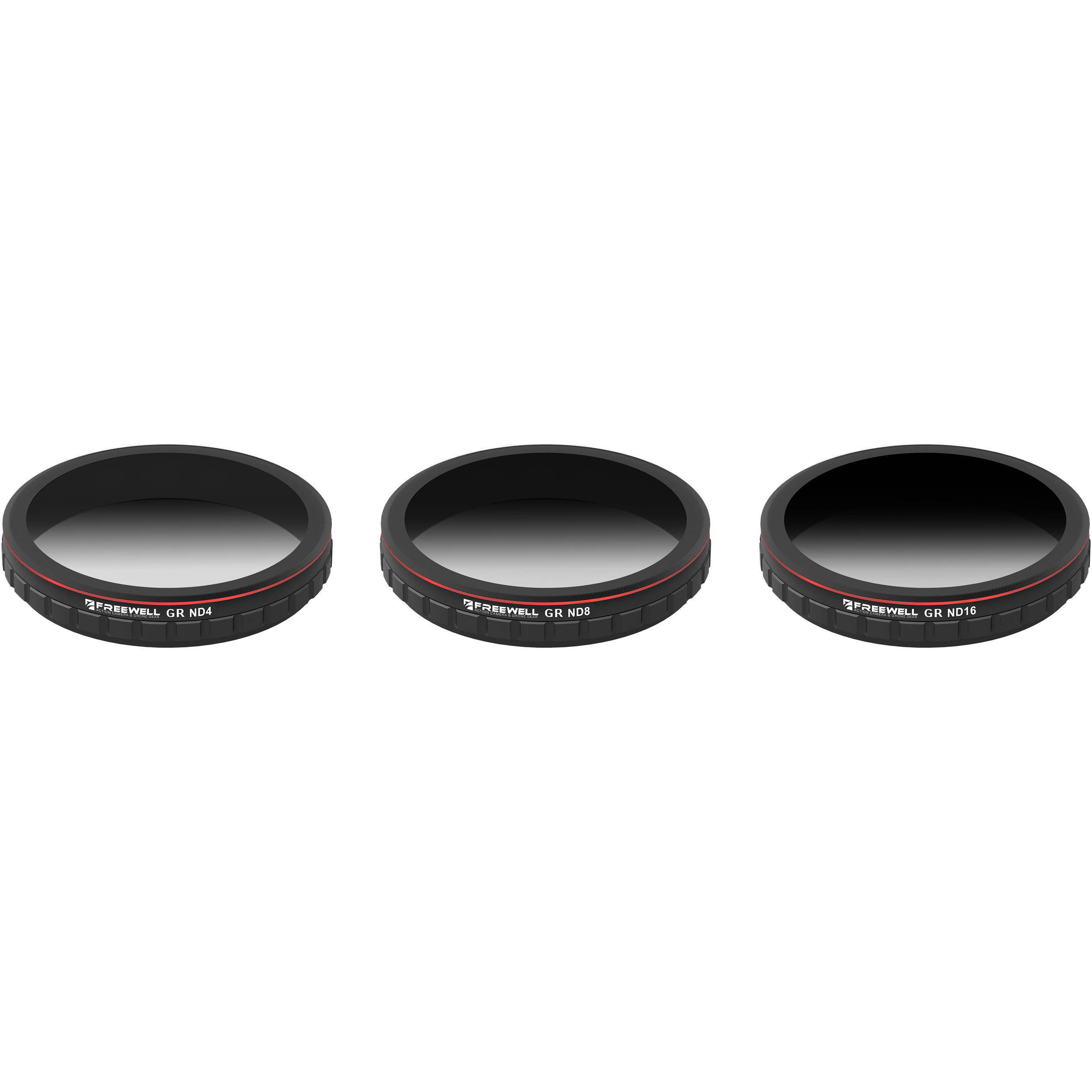 Freewell Graduated Neutral Density Filters Fw X4s Grad Bh Photo Dji Zenmuse For Nd4 Nd8 Nd16