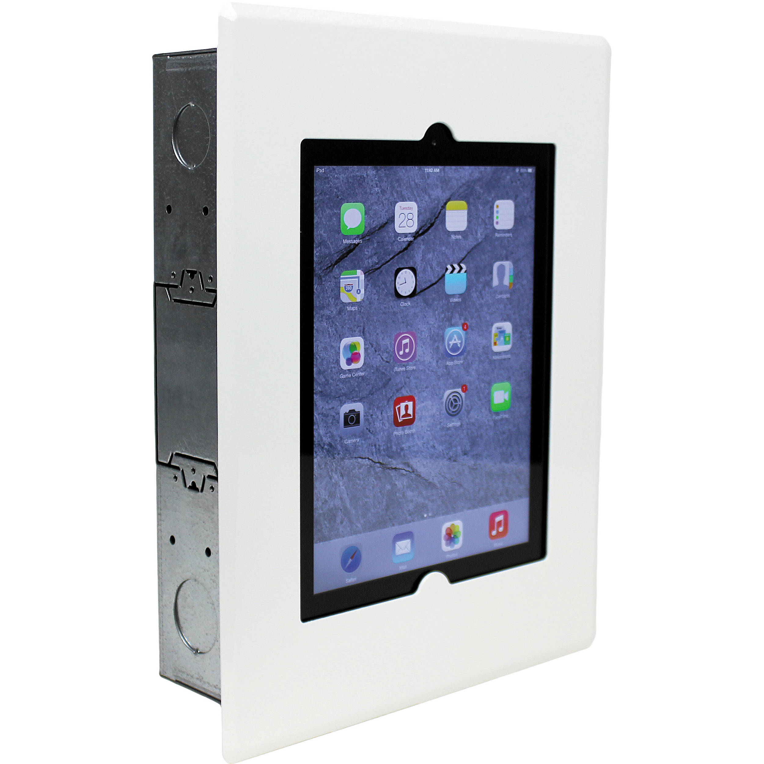 Fsr Flush Mount With Back Box And Cover For Ipad We